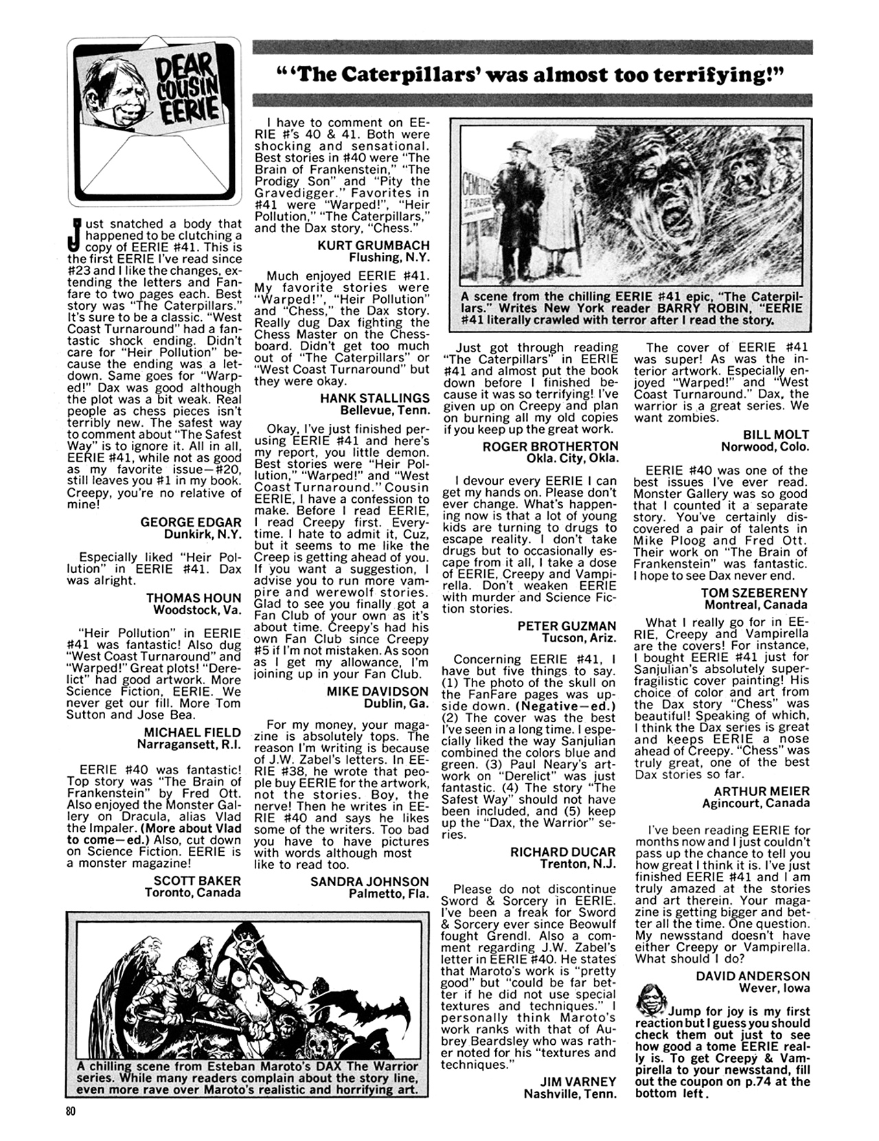 Read online Eerie Archives comic -  Issue # TPB 9 - 81