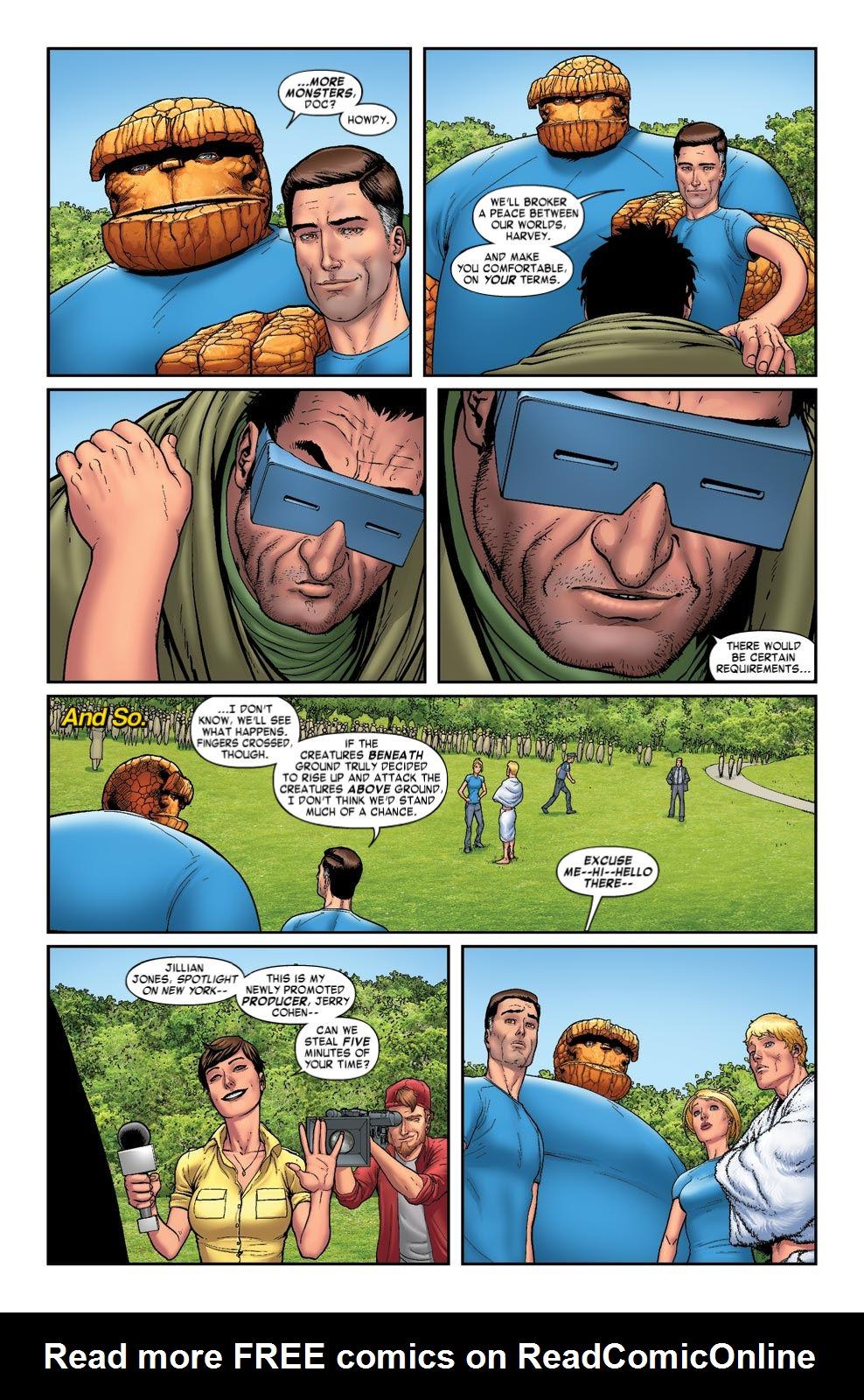 Read online Fantastic Four: Season One comic -  Issue # TPB - 55