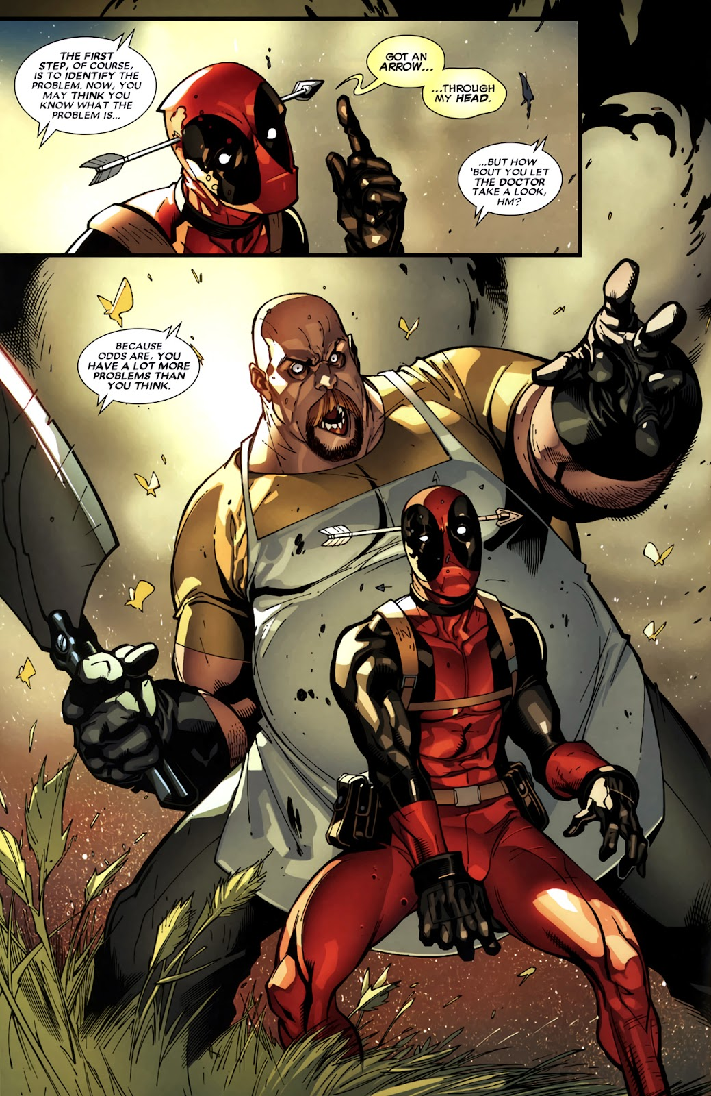 Read online Deadpool (2008) comic -  Issue #11 - 7
