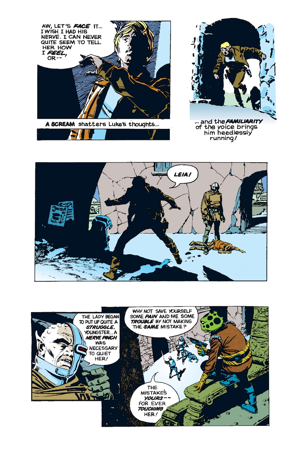 Read online Star Wars Legends: The Newspaper Strips - Epic Collection comic -  Issue # TPB (Part 5) - 3