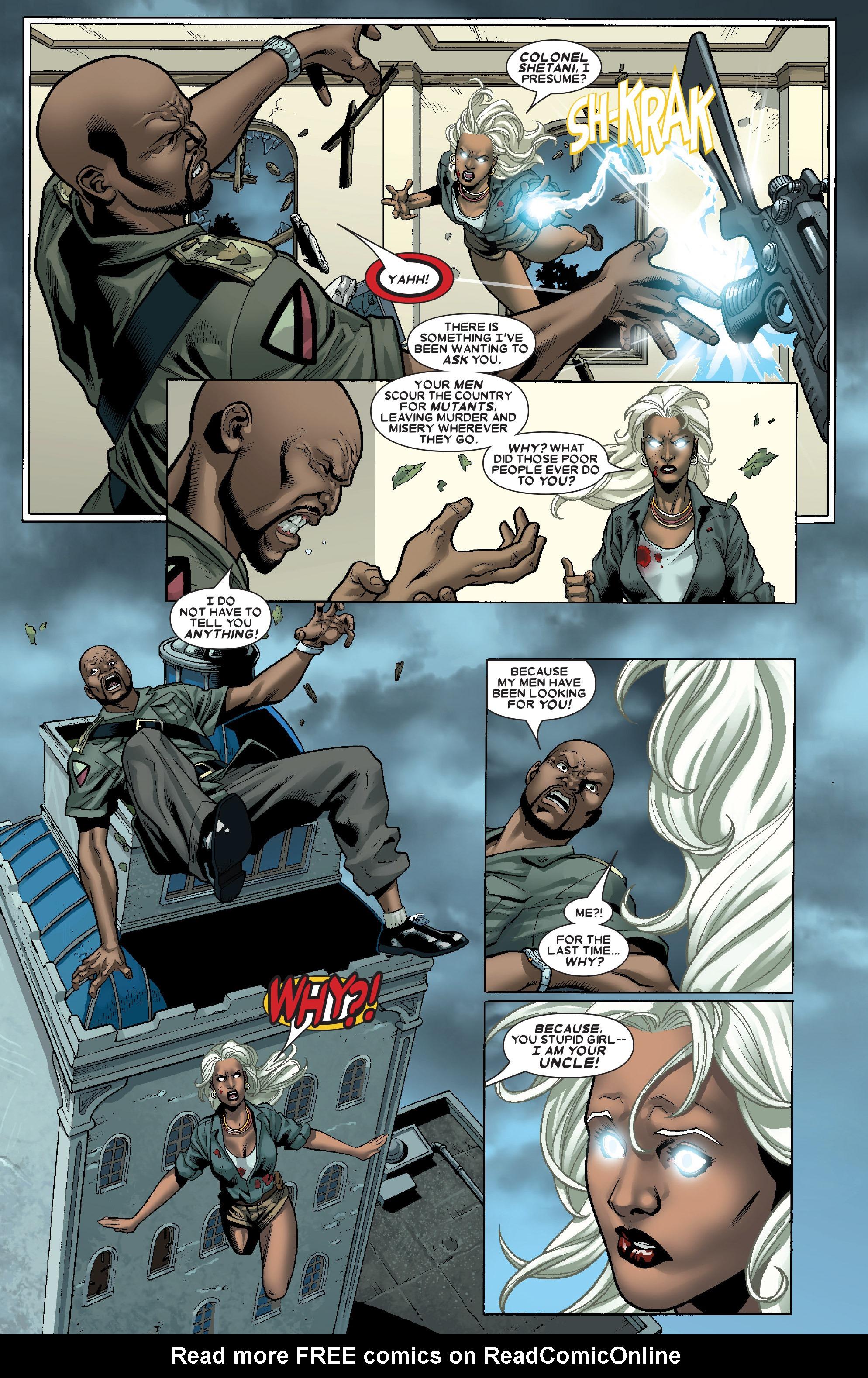 Read online Uncanny X-Men (1963) comic -  Issue # _Annual 1 (2006) - 38