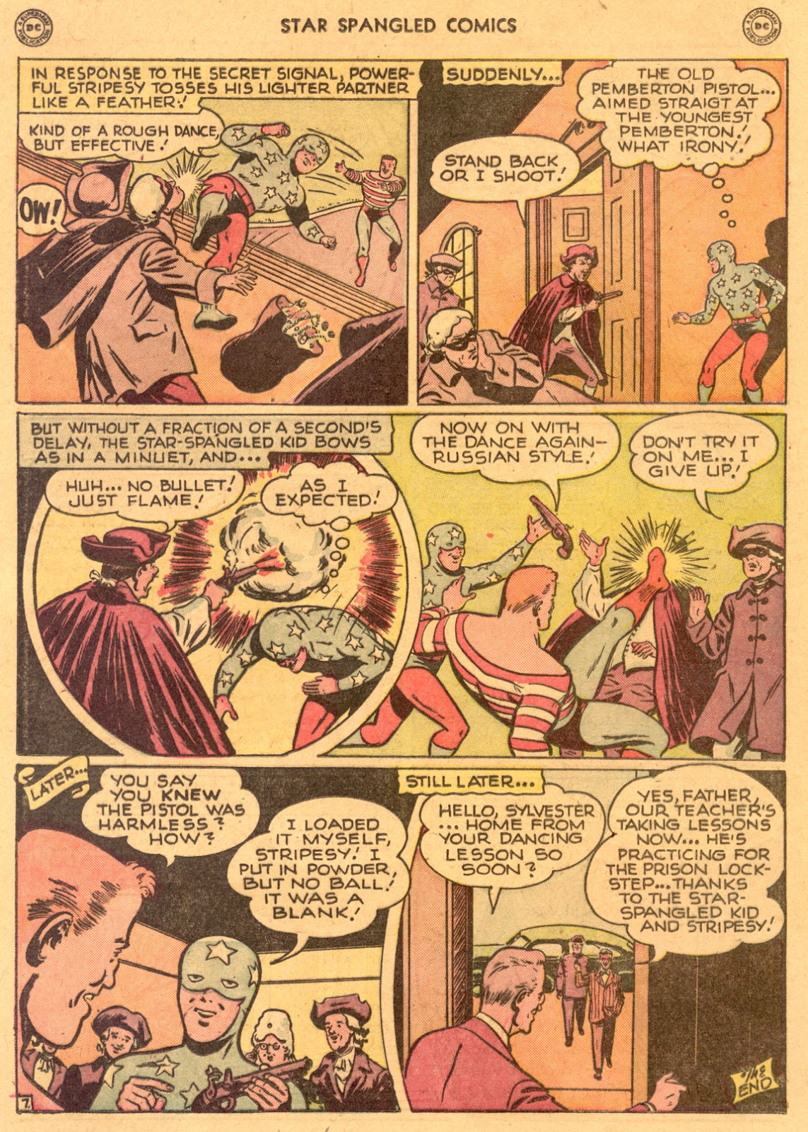 Star Spangled Comics (1941) issue 80 - Page 33
