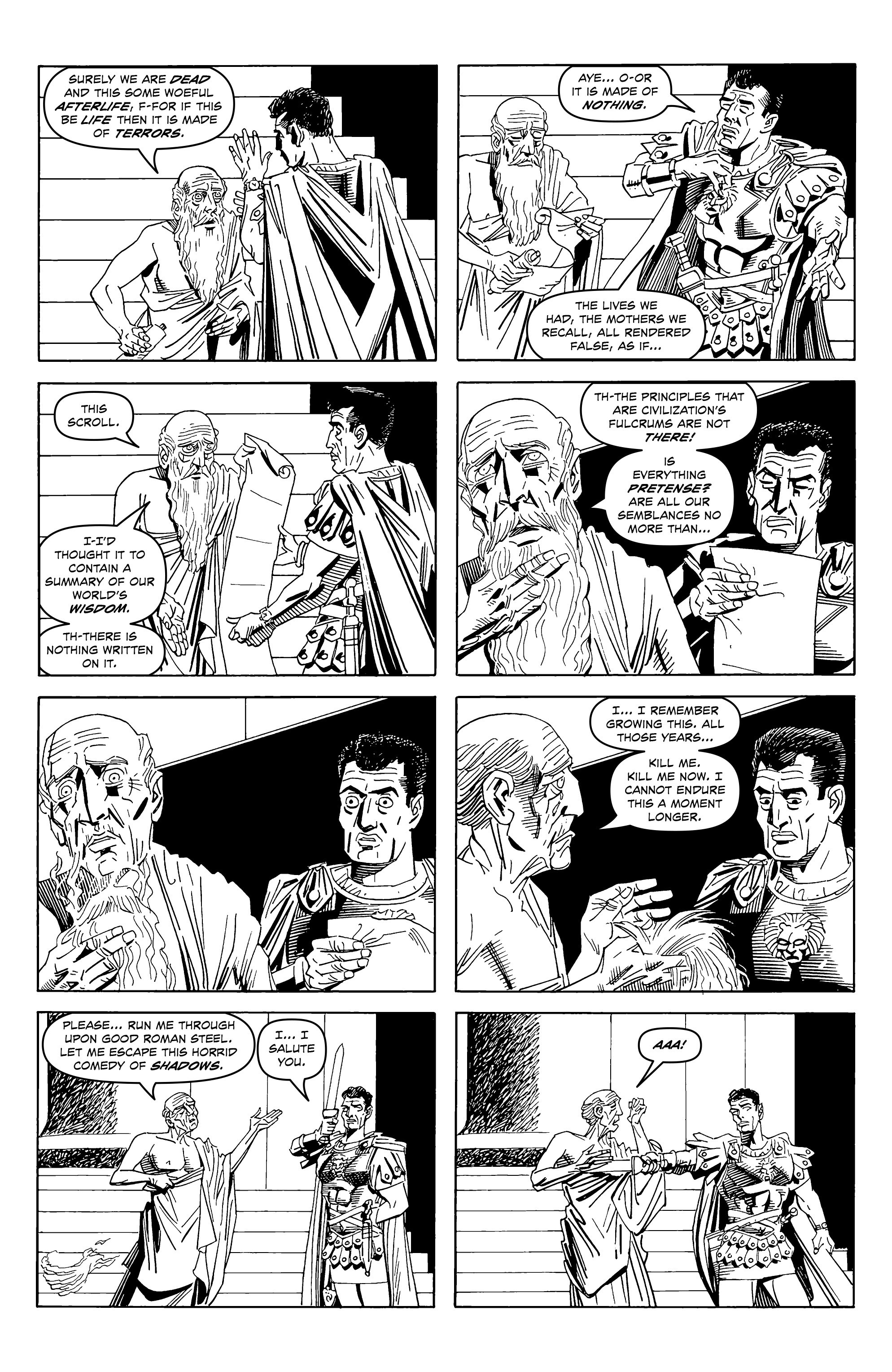Read online Alan Moore's Cinema Purgatorio comic -  Issue #2 - 9