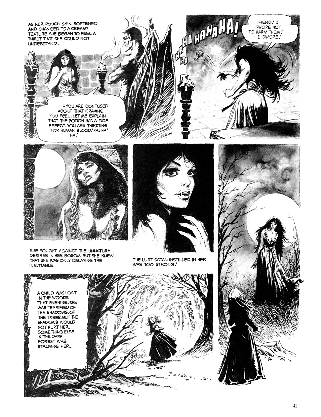 Read online Eerie Archives comic -  Issue # TPB 10 - 42