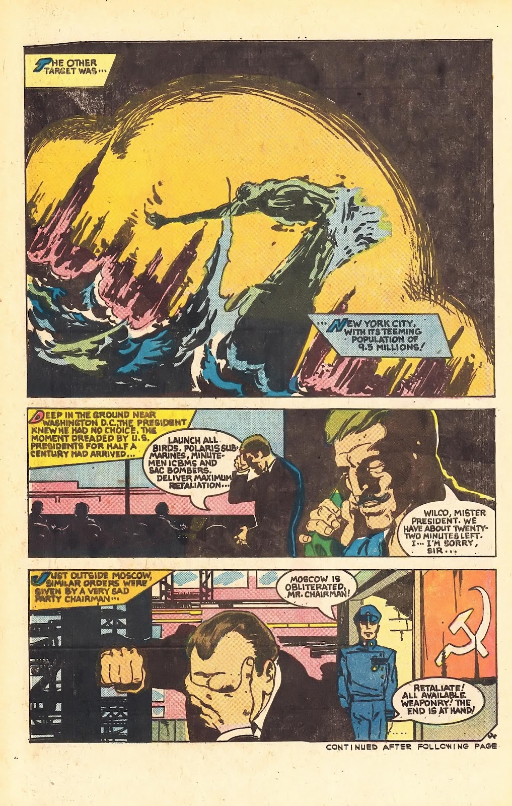 Read online Doomsday   1 (1975) comic -  Issue #1 - 6