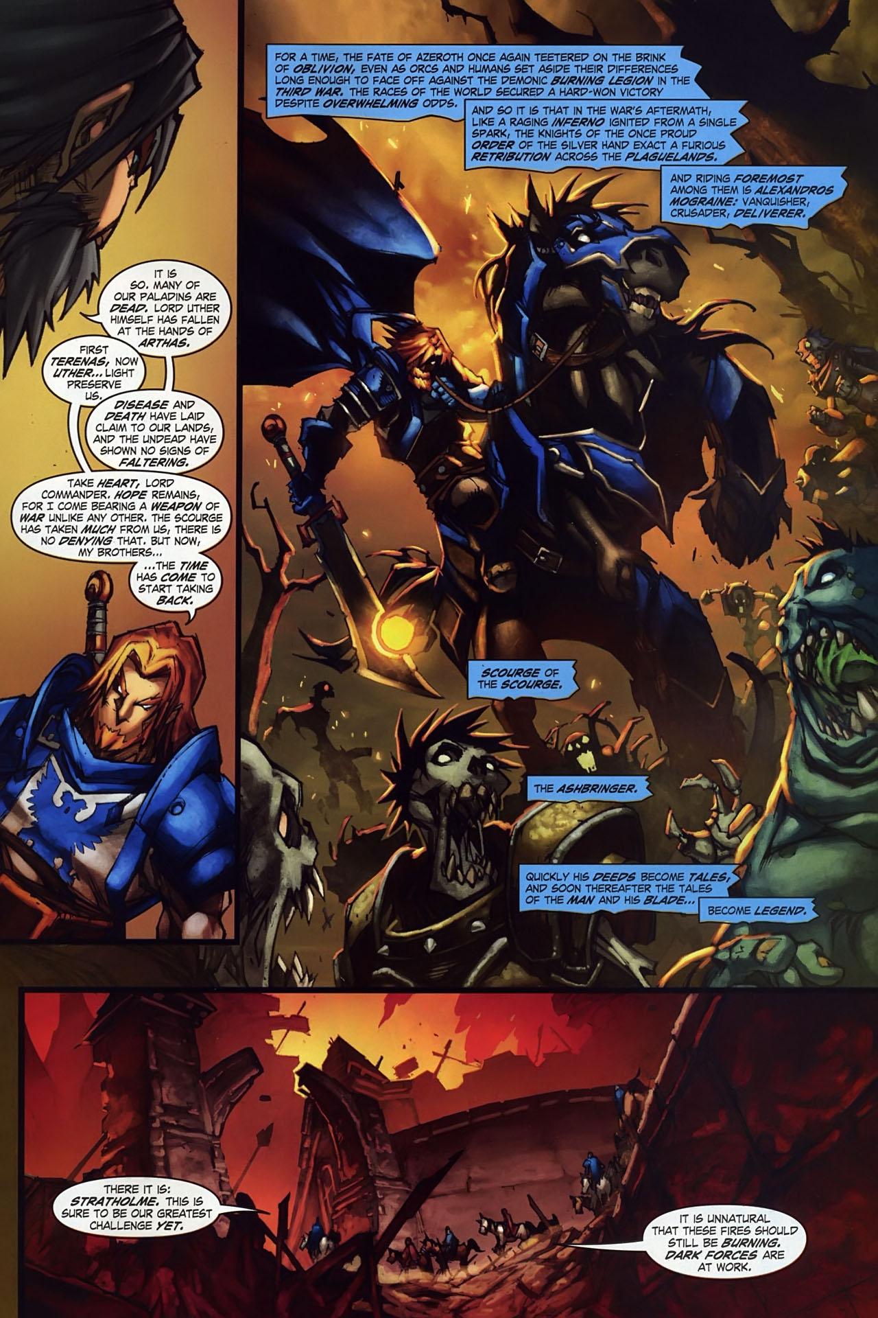 Read online World of Warcraft: Ashbringer comic -  Issue #1 - 18