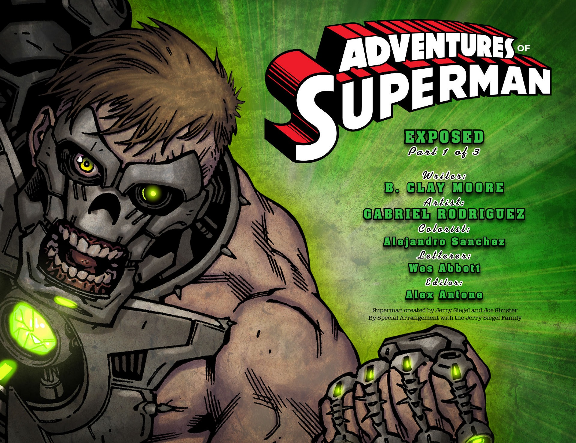 Read online Adventures of Superman [I] comic -  Issue #37 - 2