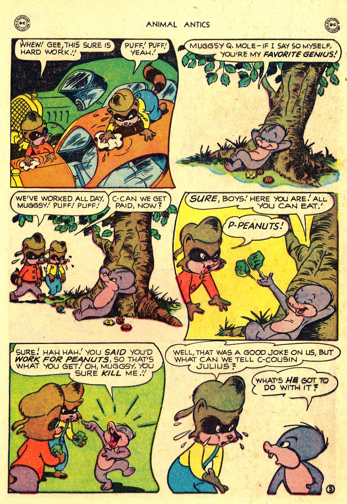 Read online Animal Antics comic -  Issue #18 - 7