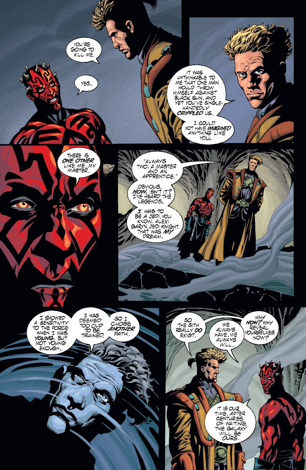 Read online Star Wars Legends: Rise of the Sith - Epic Collection comic -  Issue # TPB 2 (Part 3) - 24