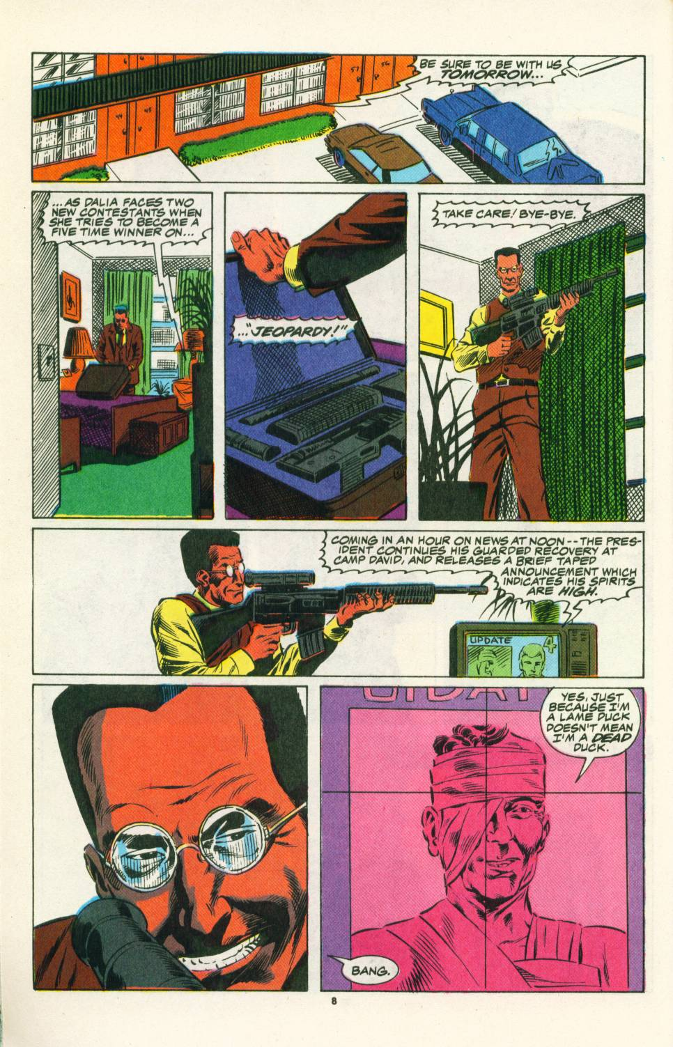 Read online Justice (1986) comic -  Issue #25 - 10