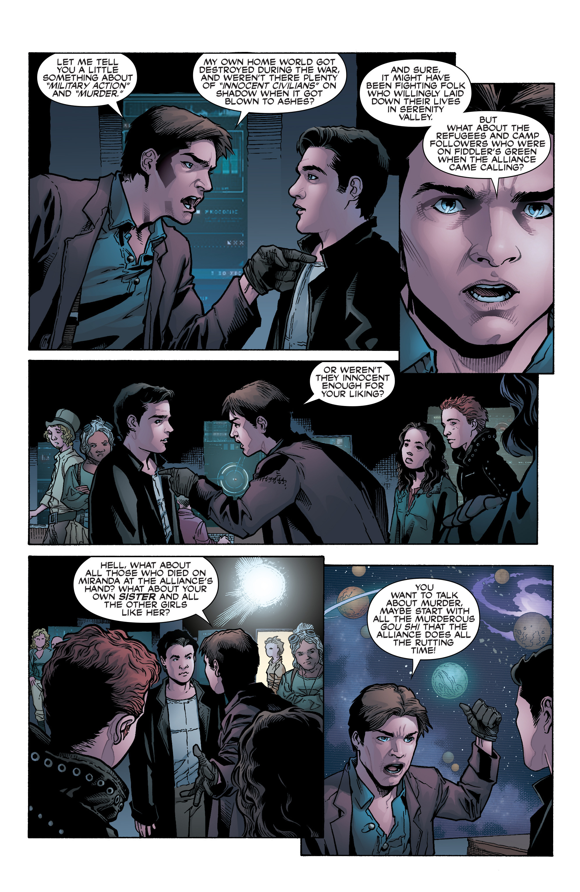 Read online Serenity: Firefly Class 03-K64 – No Power in the 'Verse comic -  Issue #2 - 11