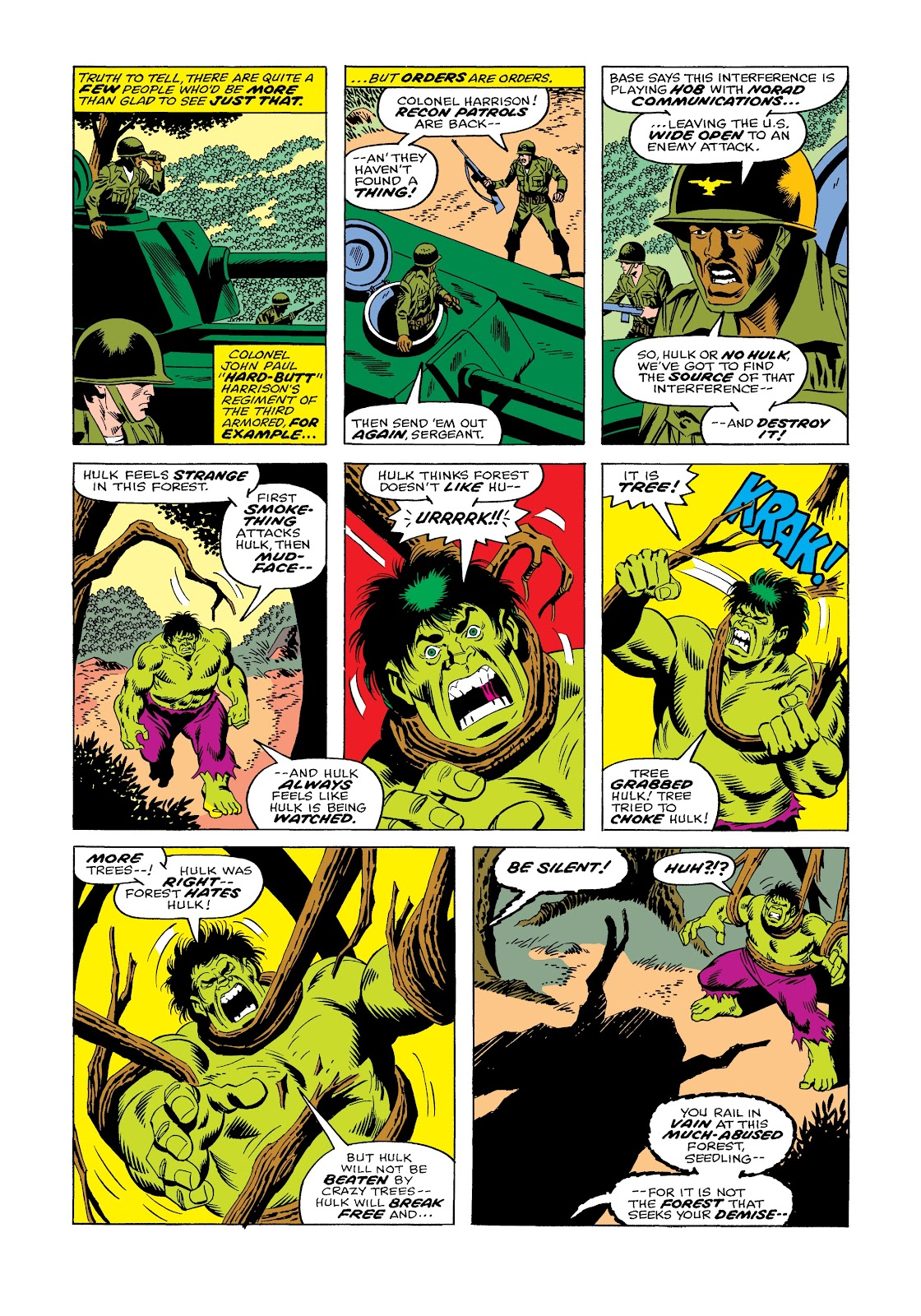 Read online Marvel Masterworks: The Incredible Hulk comic -  Issue # TPB 12 (Part 1) - 61