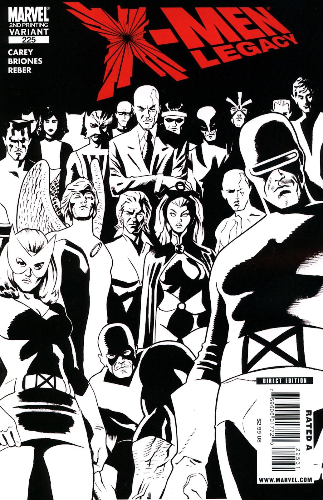 X-Men Legacy (2008) 225 Page 1