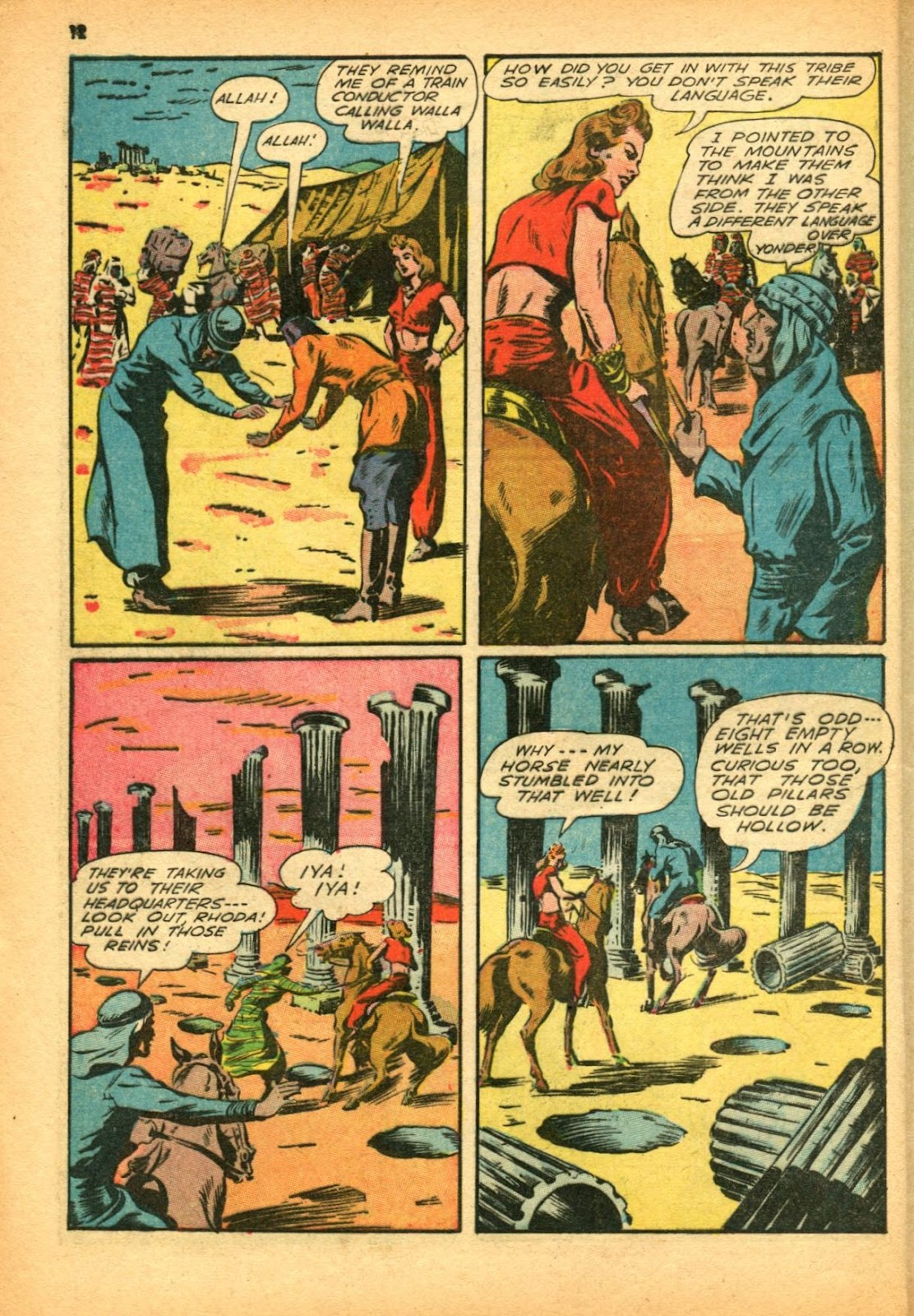 Read online Super-Magician Comics comic -  Issue #12 - 12