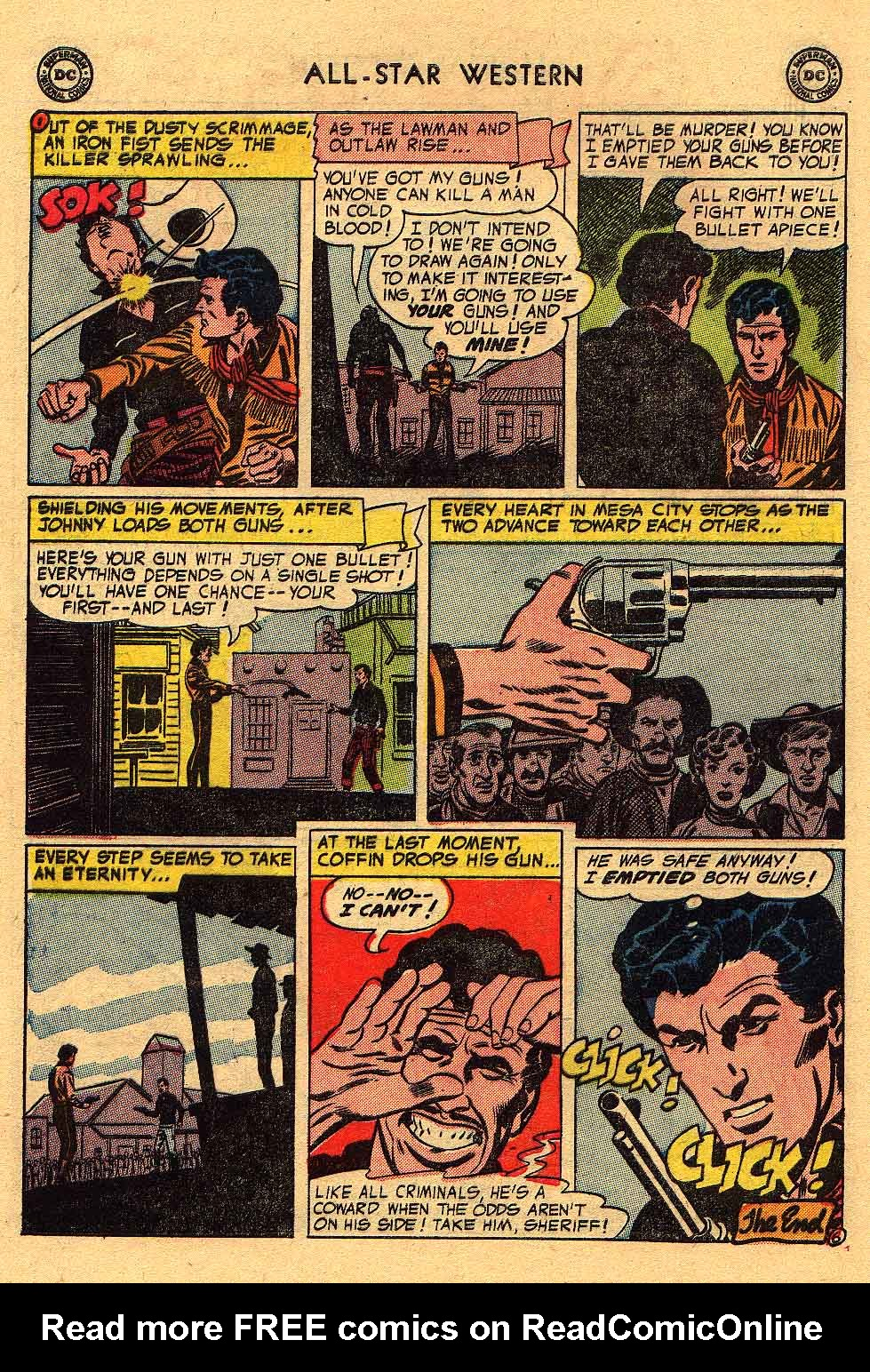 Read online All-Star Western (1951) comic -  Issue #80 - 32
