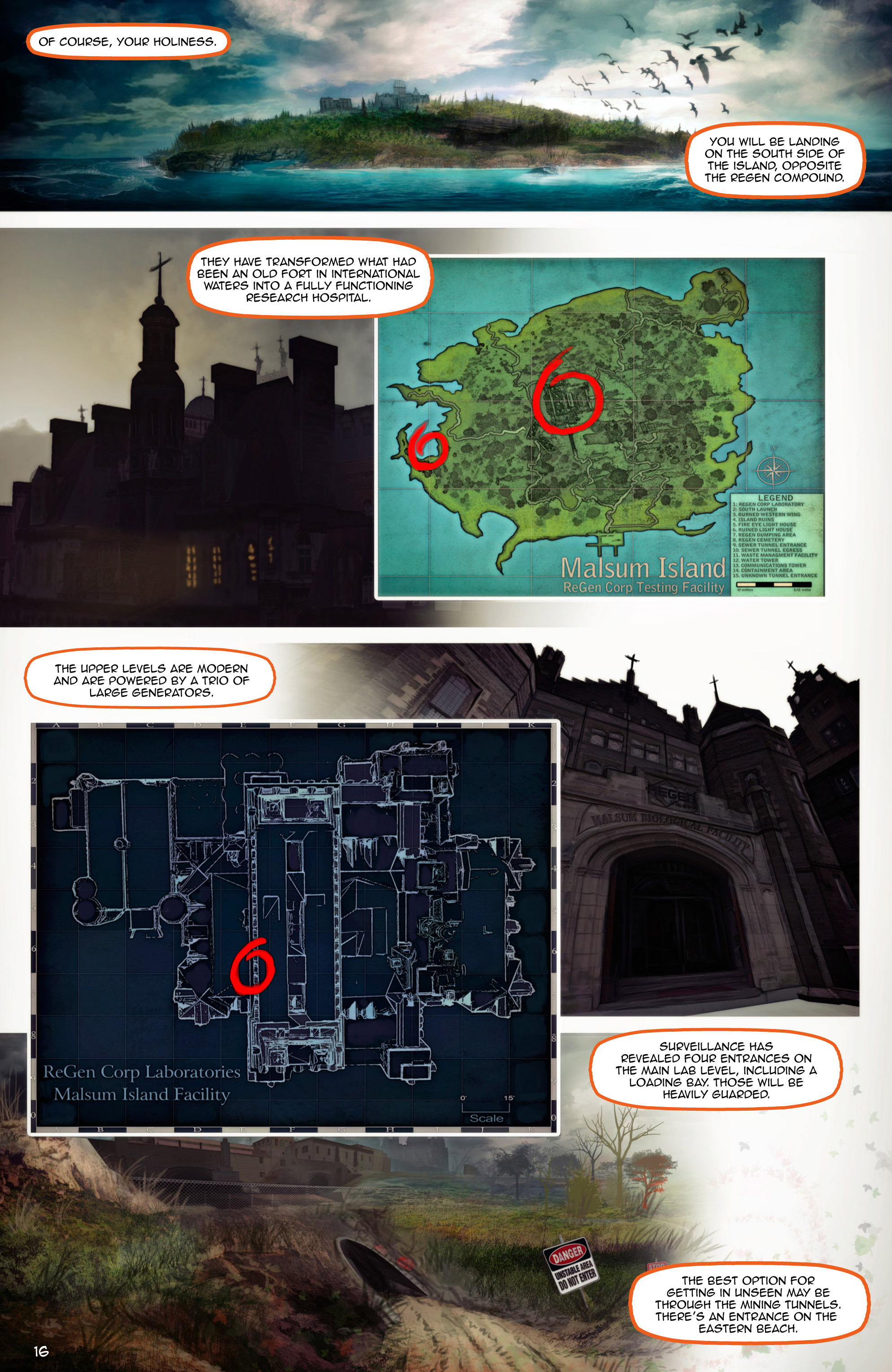 Read online Escape from Jesus Island comic -  Issue #2 - 16