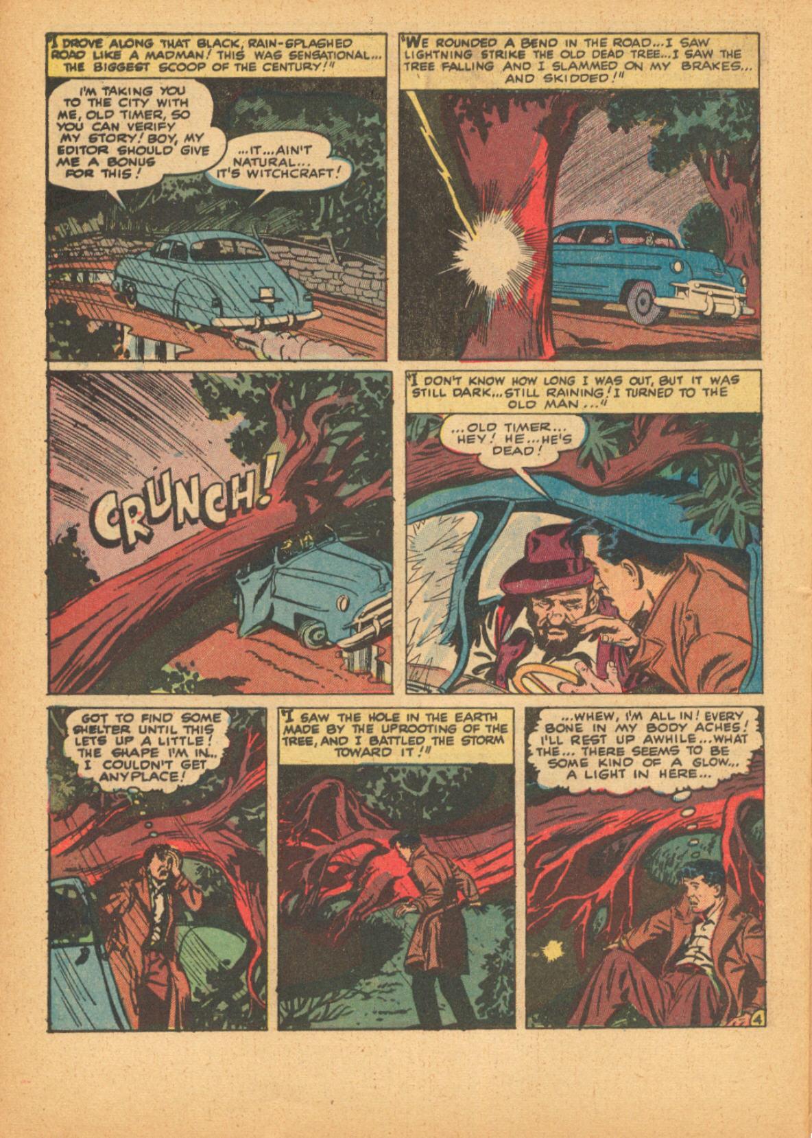Read online Adventures into Weird Worlds comic -  Issue #3 - 30