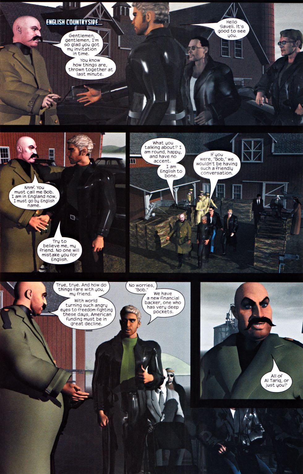 Read online U.S. War Machine 2.0 comic -  Issue #1 - 12