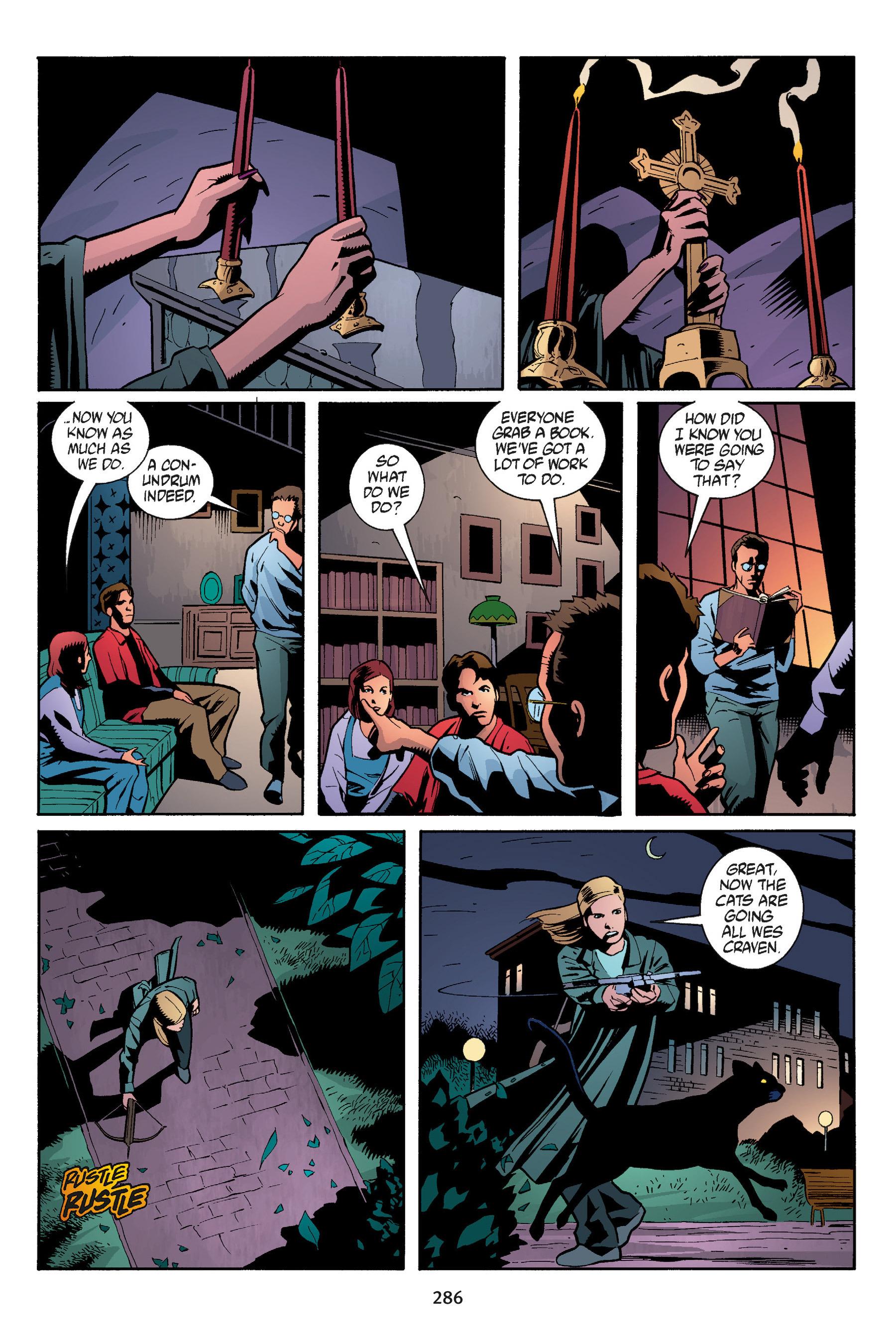Read online Buffy the Vampire Slayer: Omnibus comic -  Issue # TPB 5 - 285