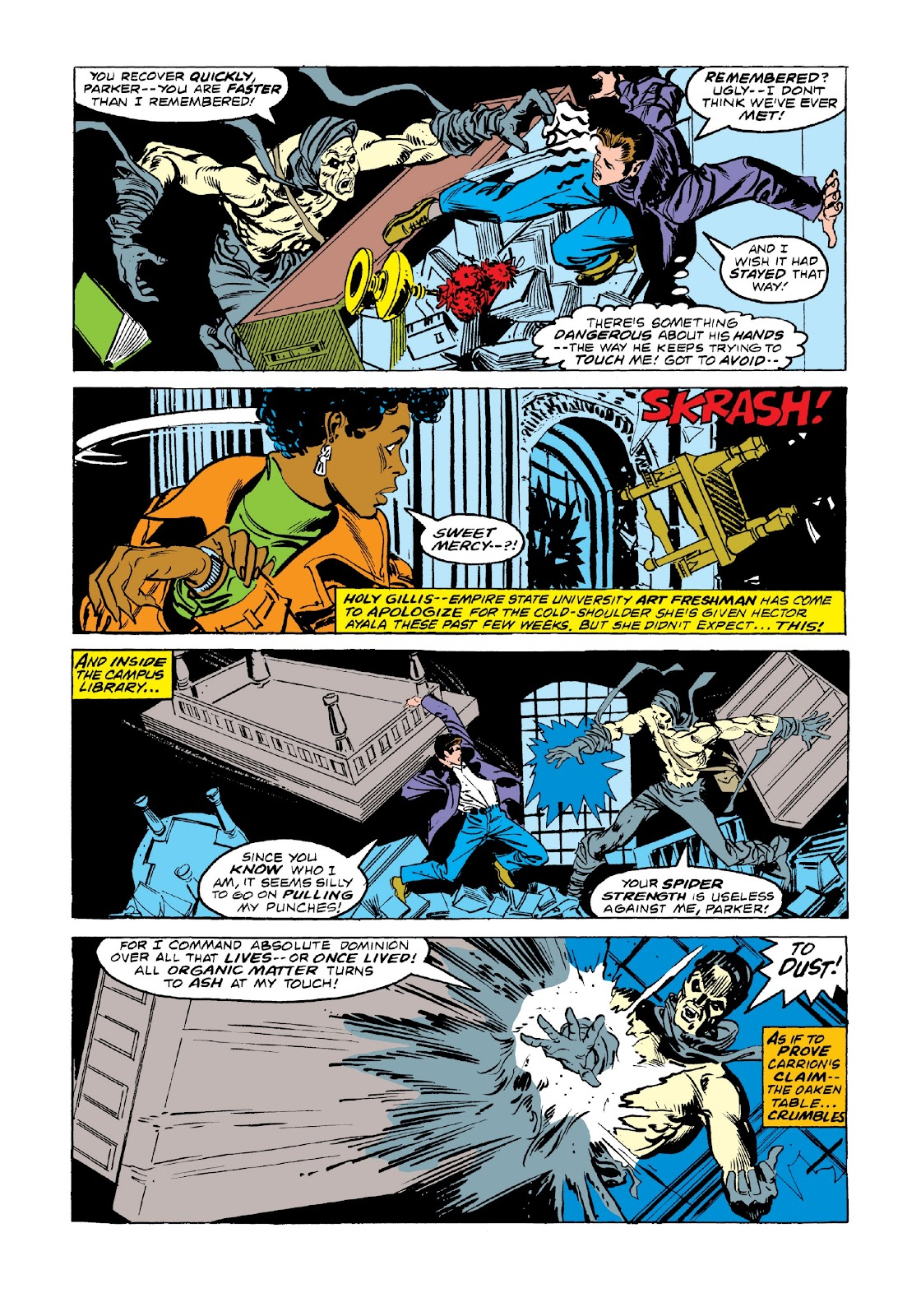 Read online Marvel Masterworks: The Spectacular Spider-Man comic -  Issue # TPB 2 (Part 3) - 42