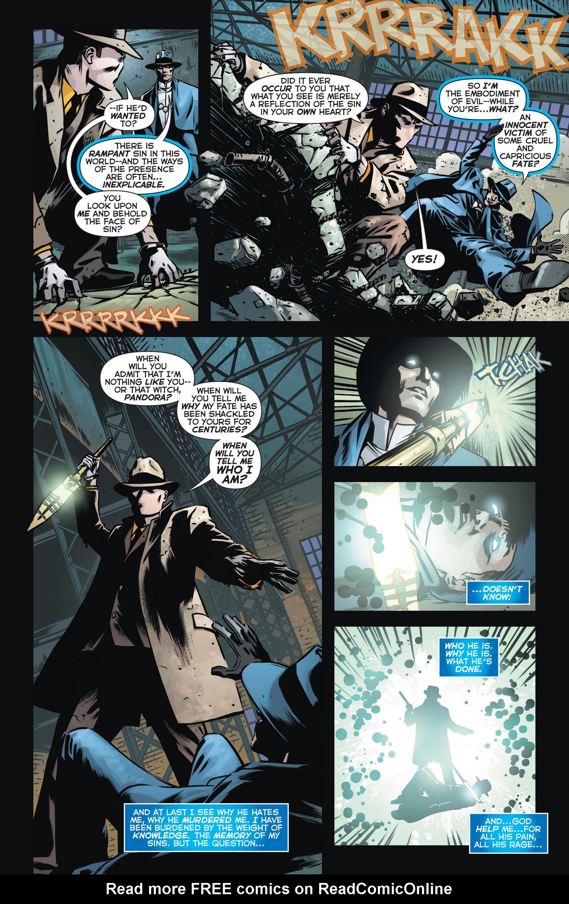 Read online Trinity of Sin: The Phantom Stranger comic -  Issue #13 - 14