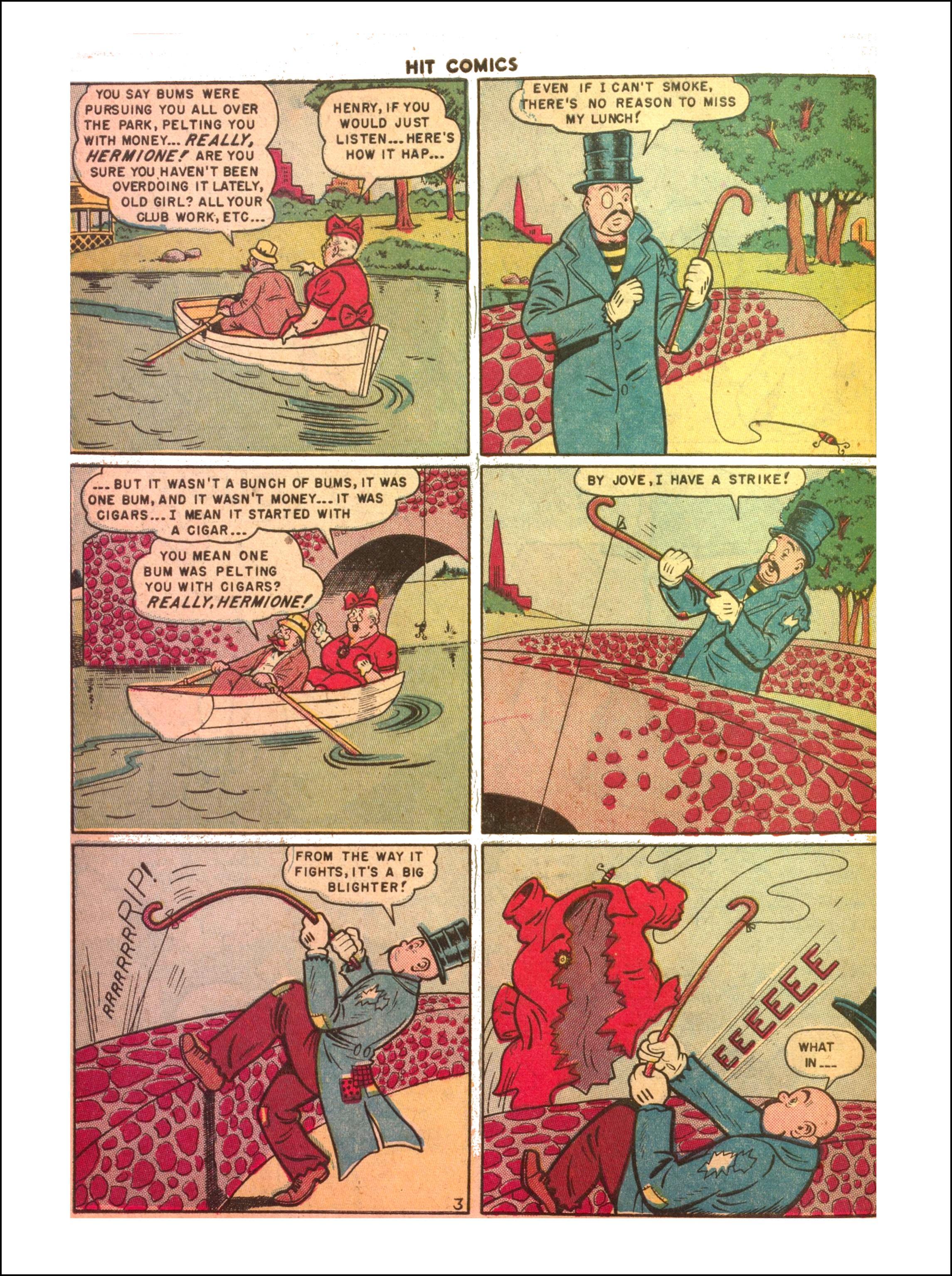 Read online Hit Comics comic -  Issue #65 - 18