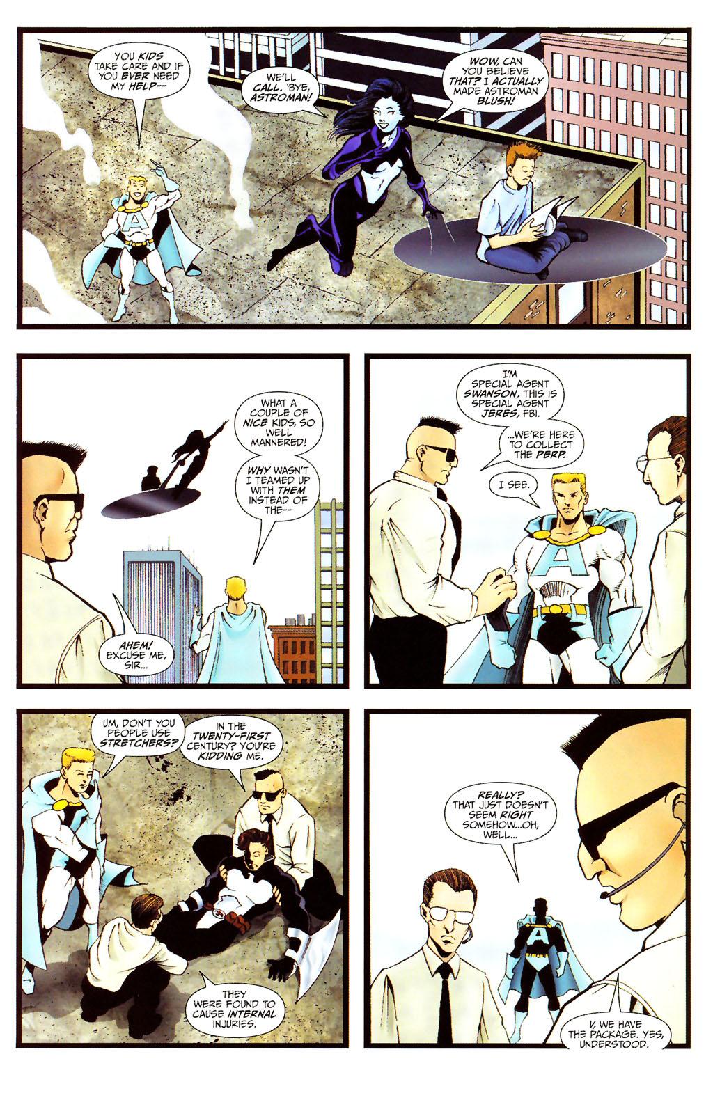Read online ShadowHawk (2005) comic -  Issue #12 - 23