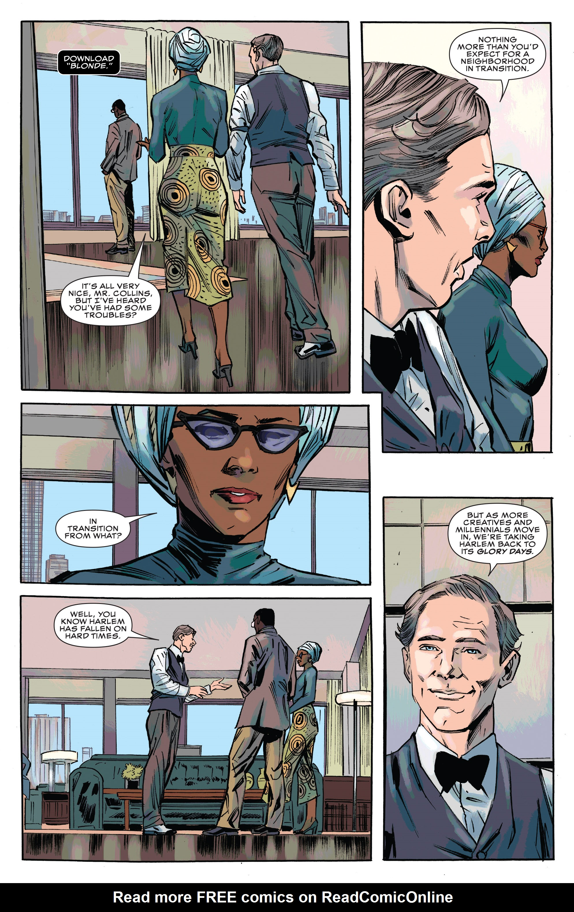 Read online Black Panther and the Crew comic -  Issue #3 - 15