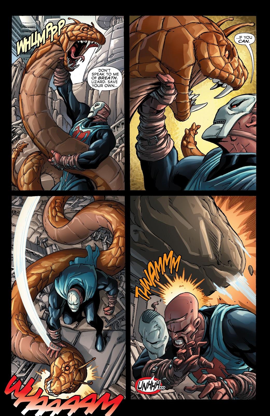 Legion of Super-Heroes (2011) Issue #21 #22 - English 5