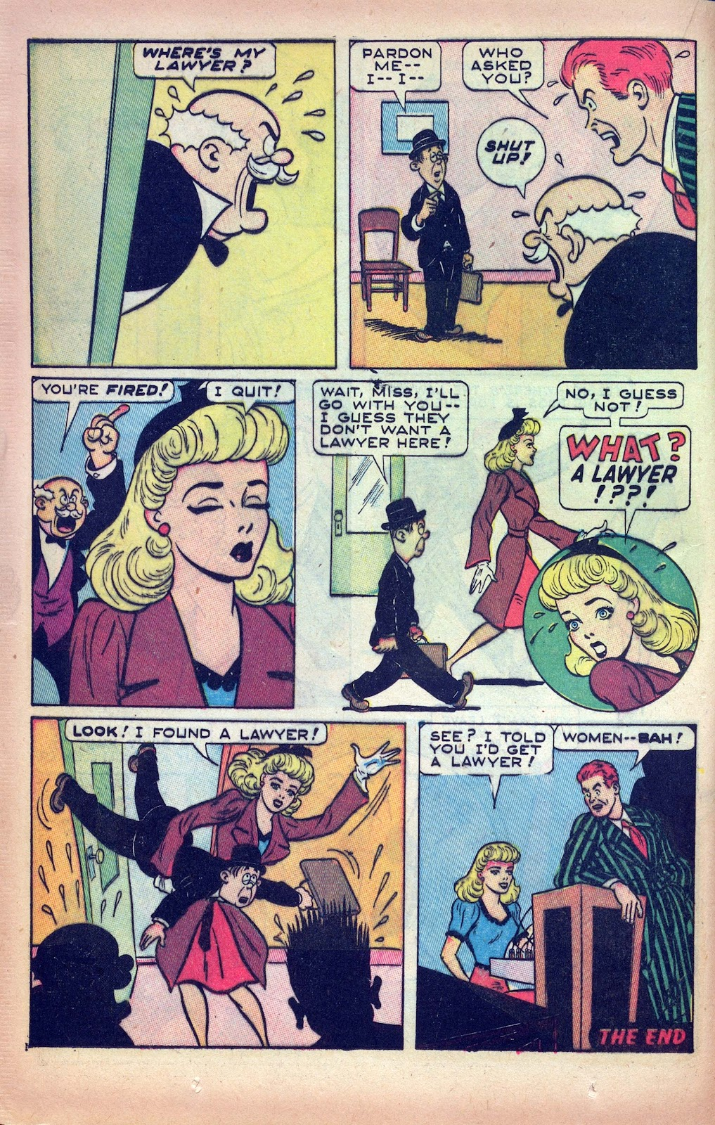 Read online Joker Comics comic -  Issue #28 - 20