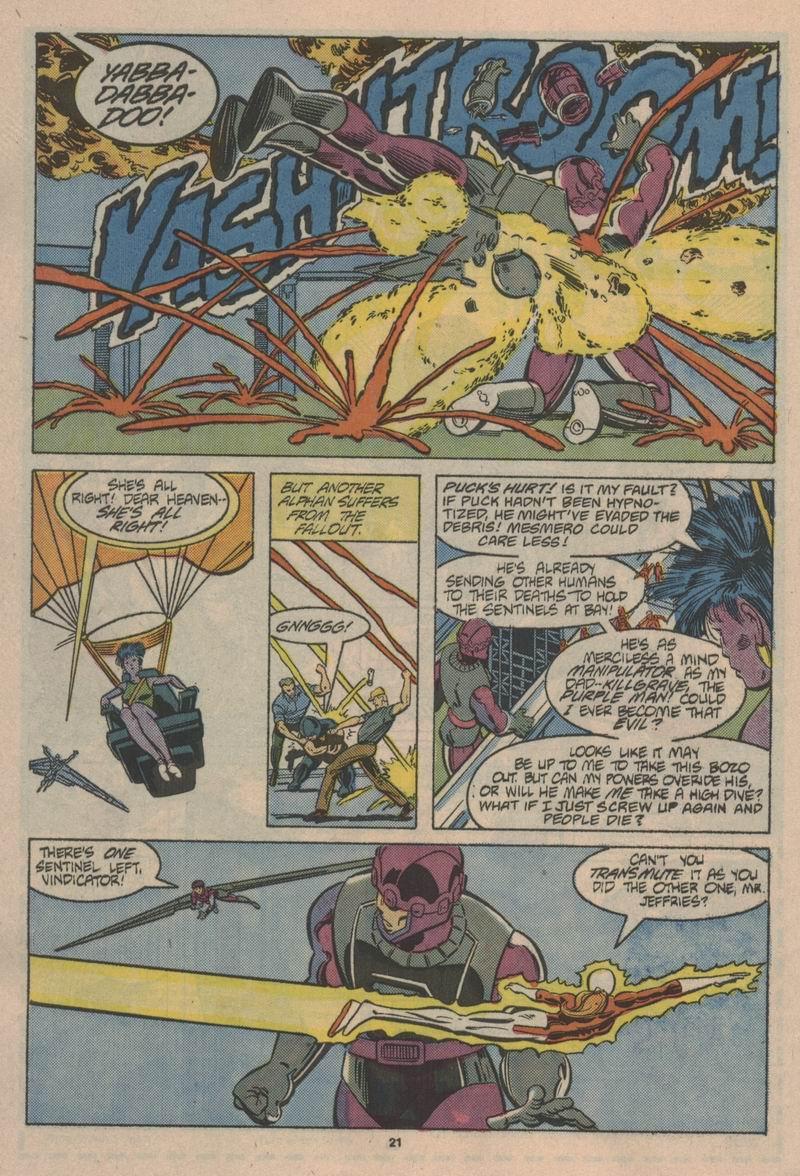 Read online Alpha Flight (1983) comic -  Issue #43 - 22