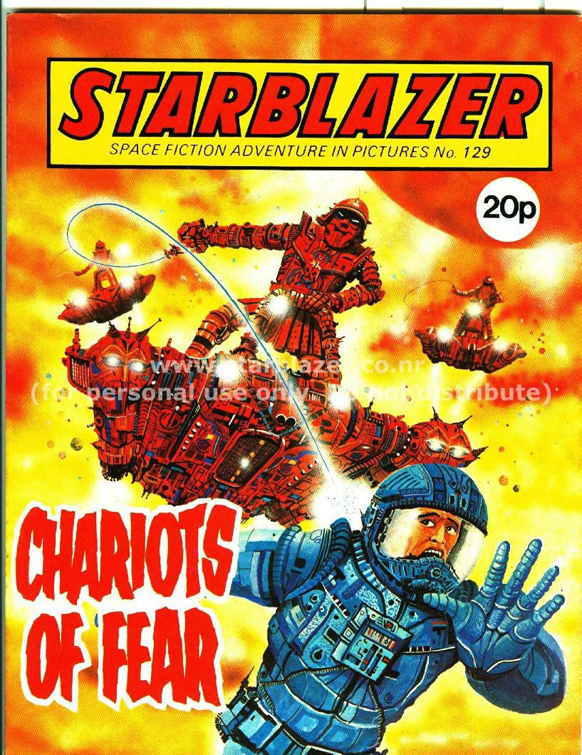 Starblazer issue 129 - Page 1