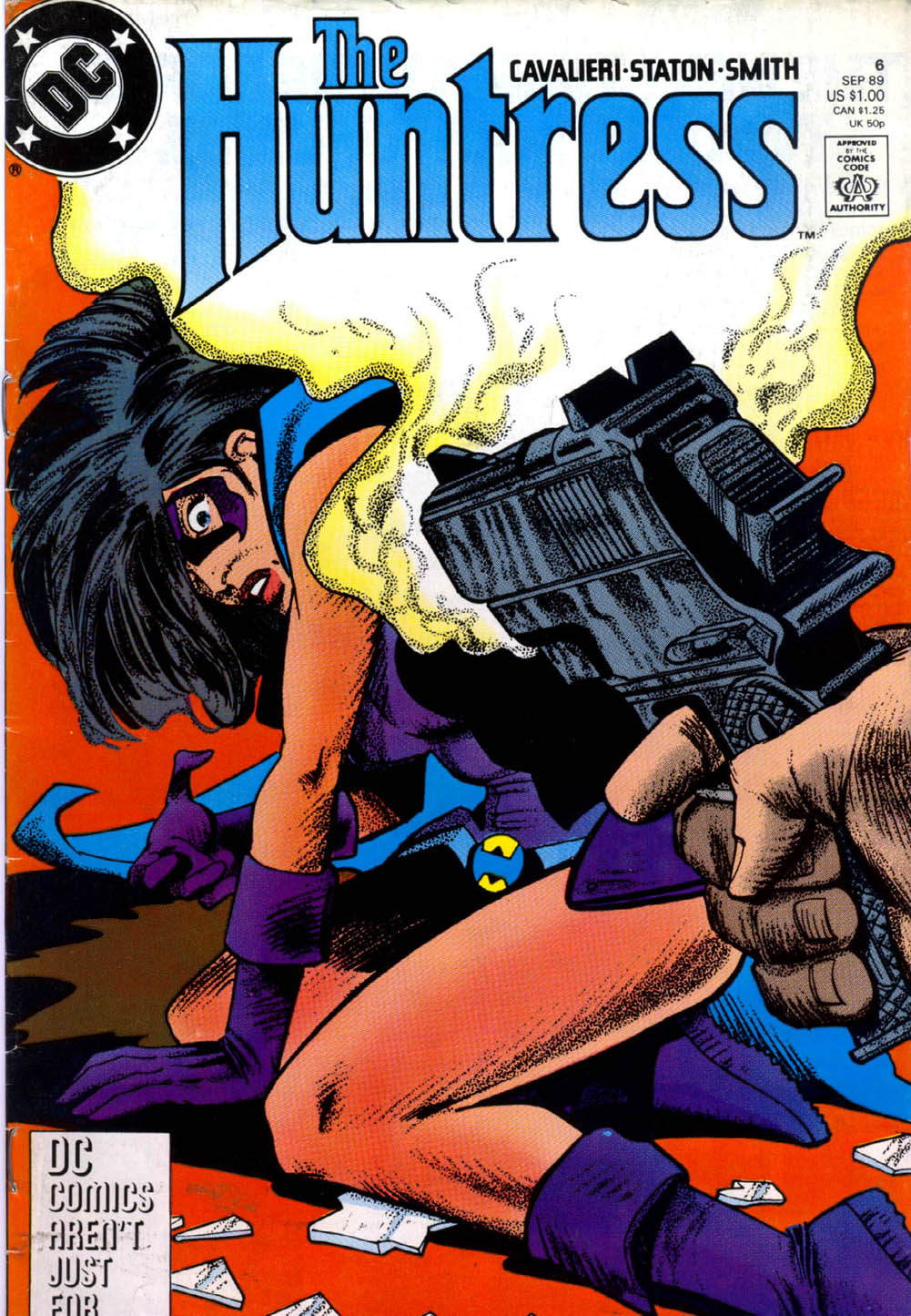 The Huntress (1989) issue 6 - Page 1