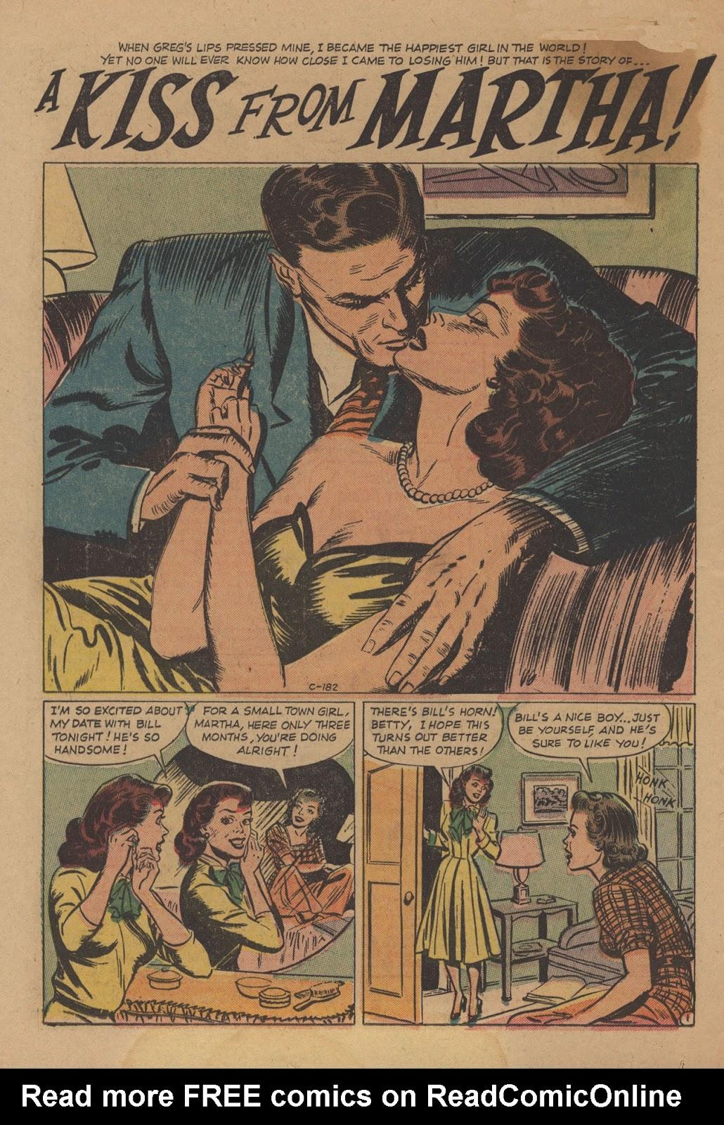 Love Romances (1949) issue 28 - Page 12