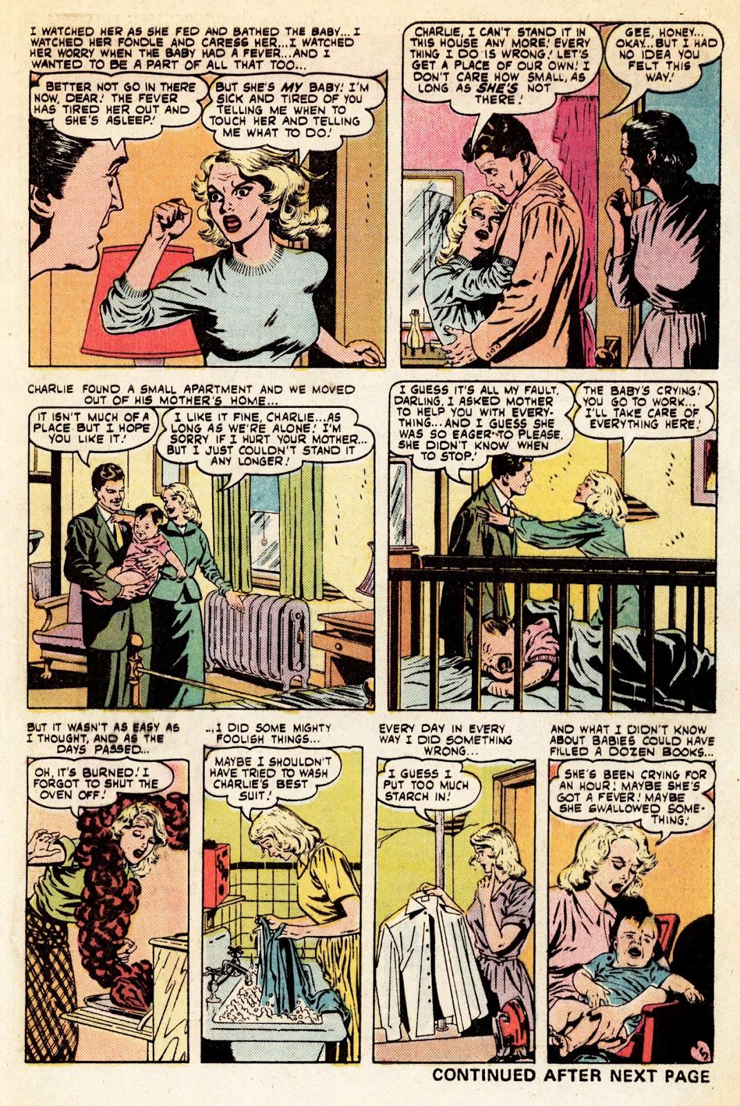 Love Romances (1949) issue 34 - Page 6