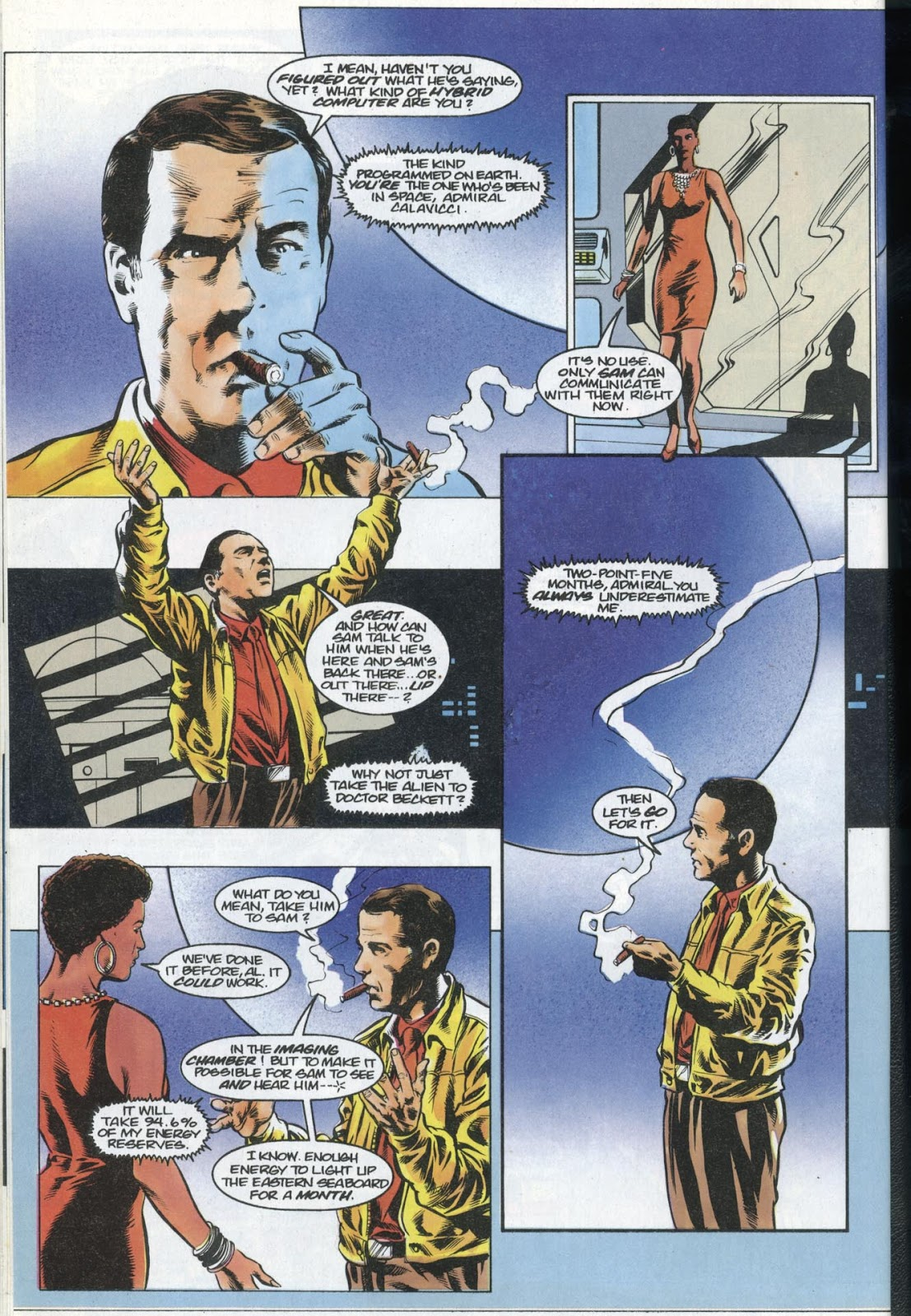 Read online Quantum Leap comic -  Issue #13 - 8
