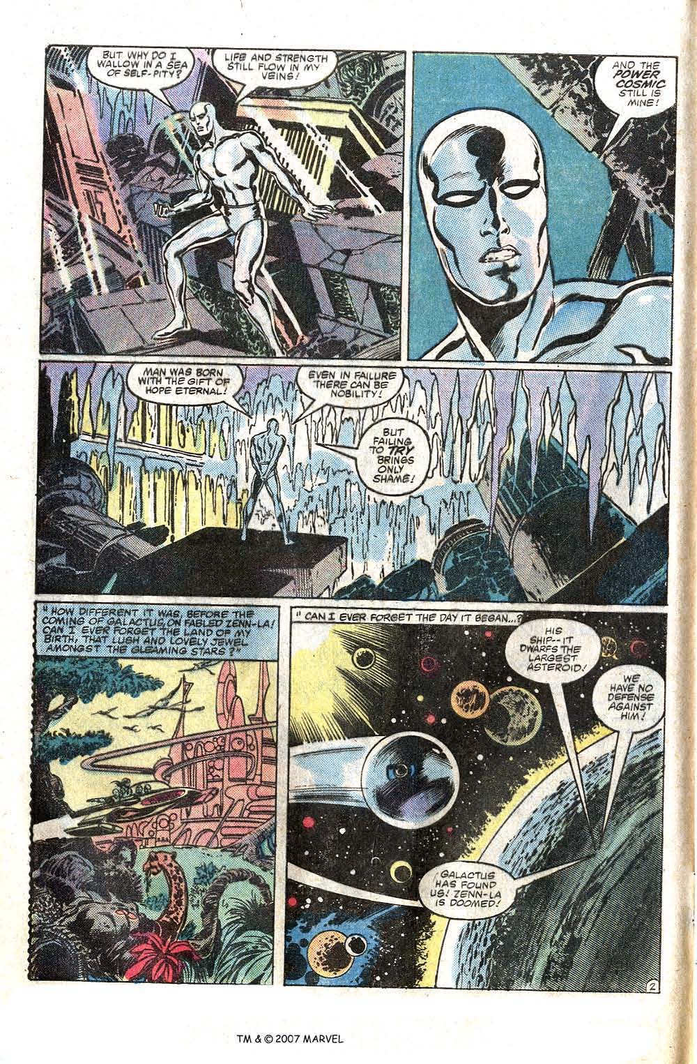 Read online Silver Surfer (1982) comic -  Issue # Full - 4