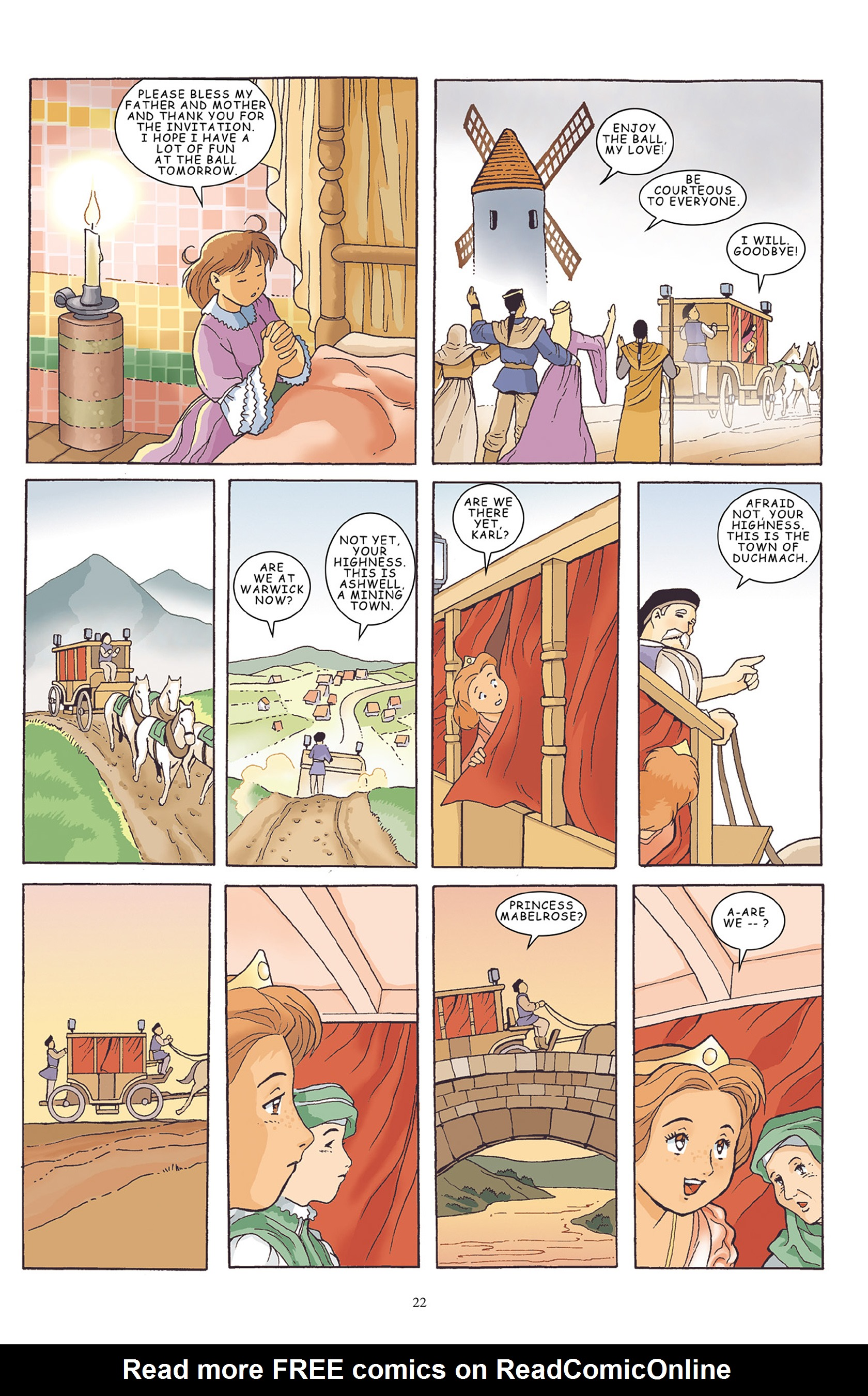 Read online Courageous Princess comic -  Issue # TPB 1 - 23