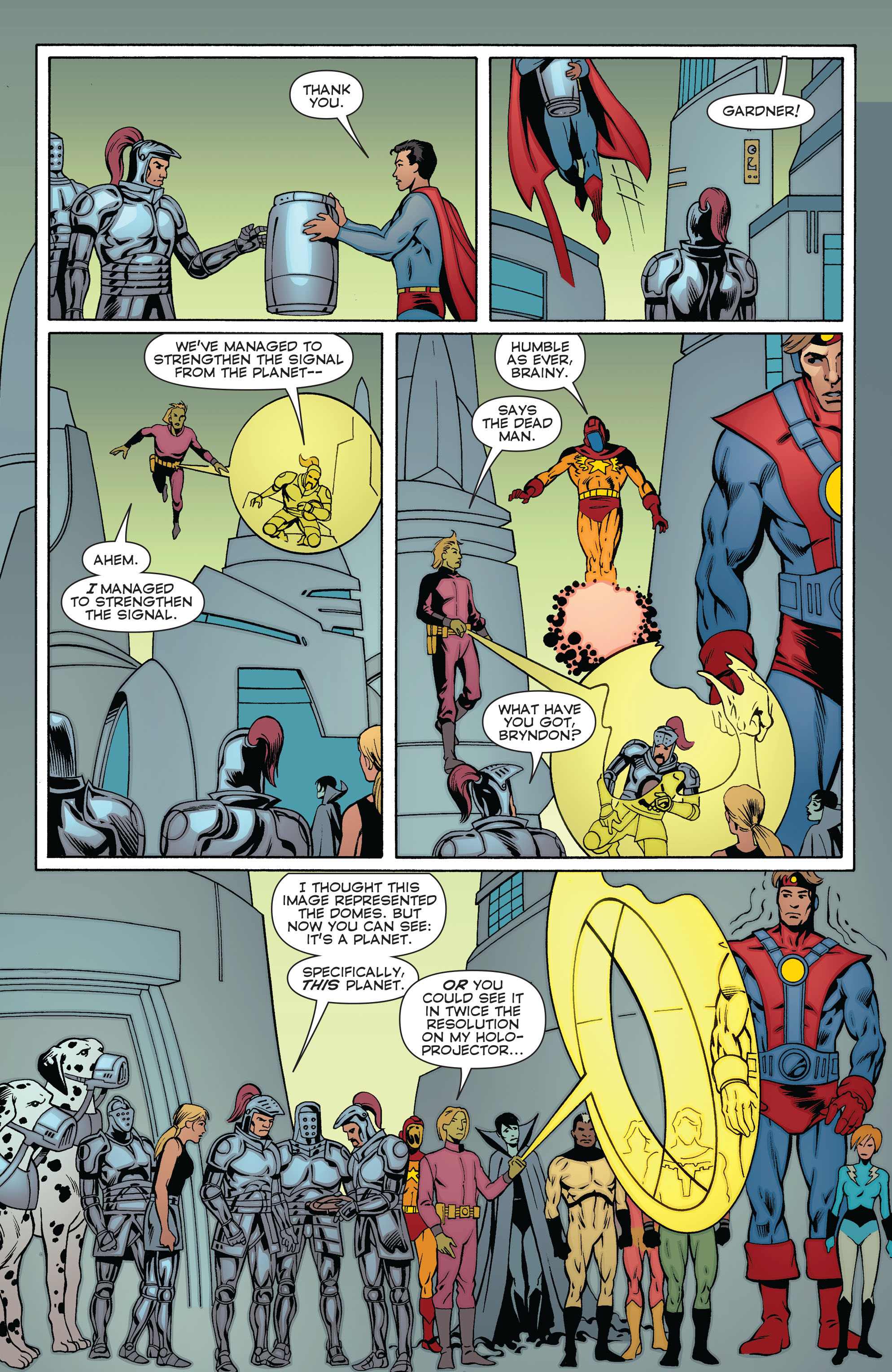 Read online Convergence Superboy and the Legion of Super-Heroes comic -  Issue #2 - 18