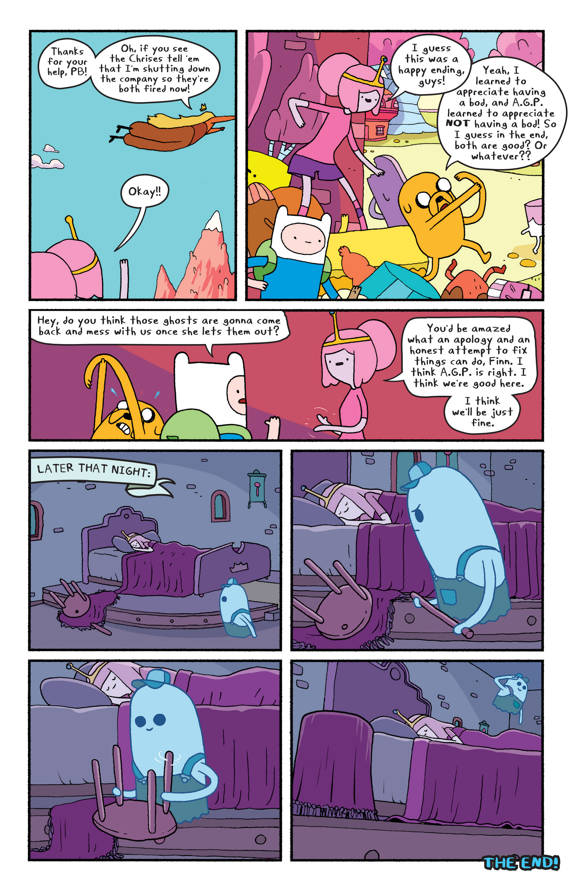 Read online Adventure Time comic -  Issue #29 - 17