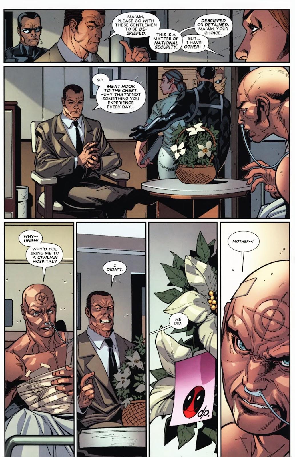 Read online Deadpool (2008) comic -  Issue #12 - 7