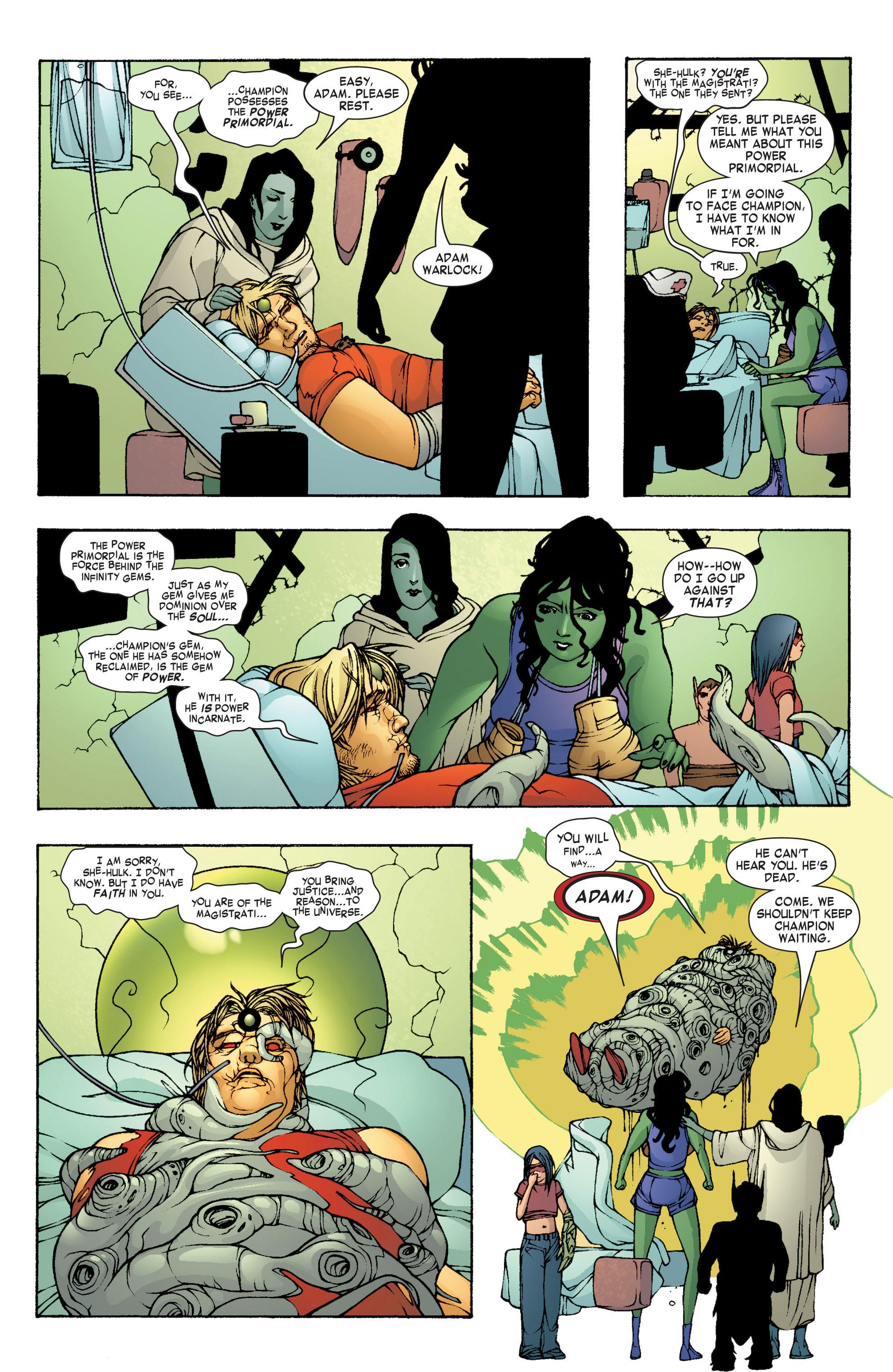 Read online She-Hulk (2004) comic -  Issue #8 - 8