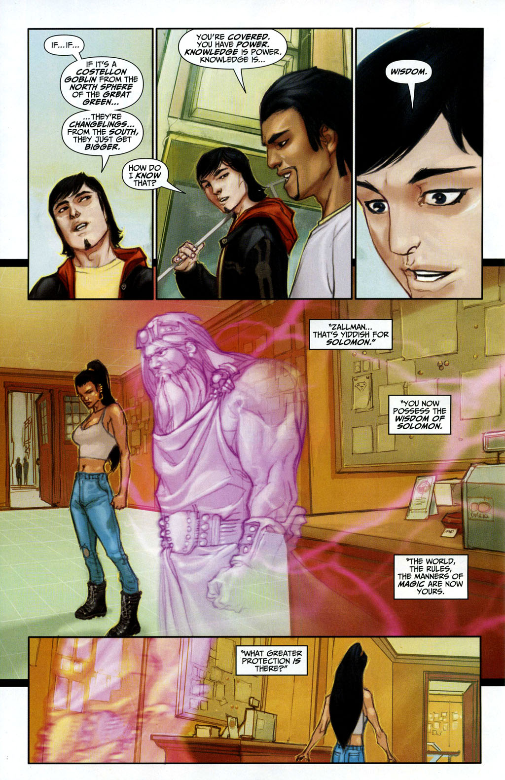 Read online Trials of Shazam comic -  Issue #3 - 22