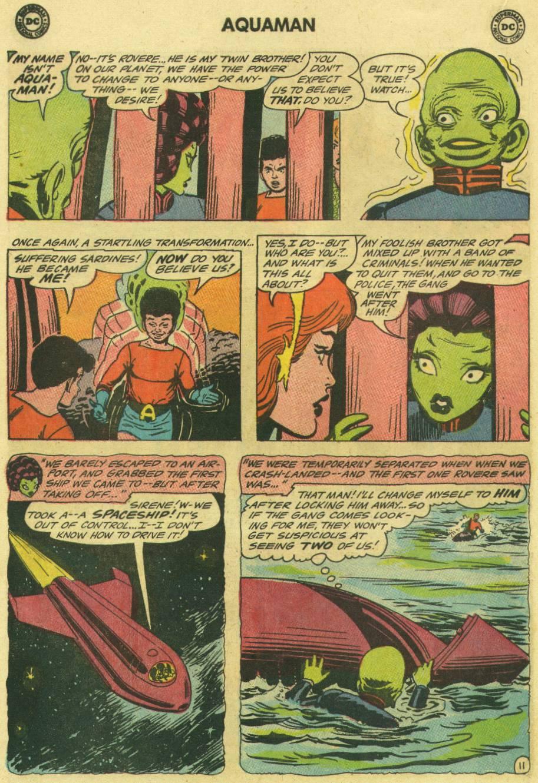 Read online Aquaman (1962) comic -  Issue #16 - 16