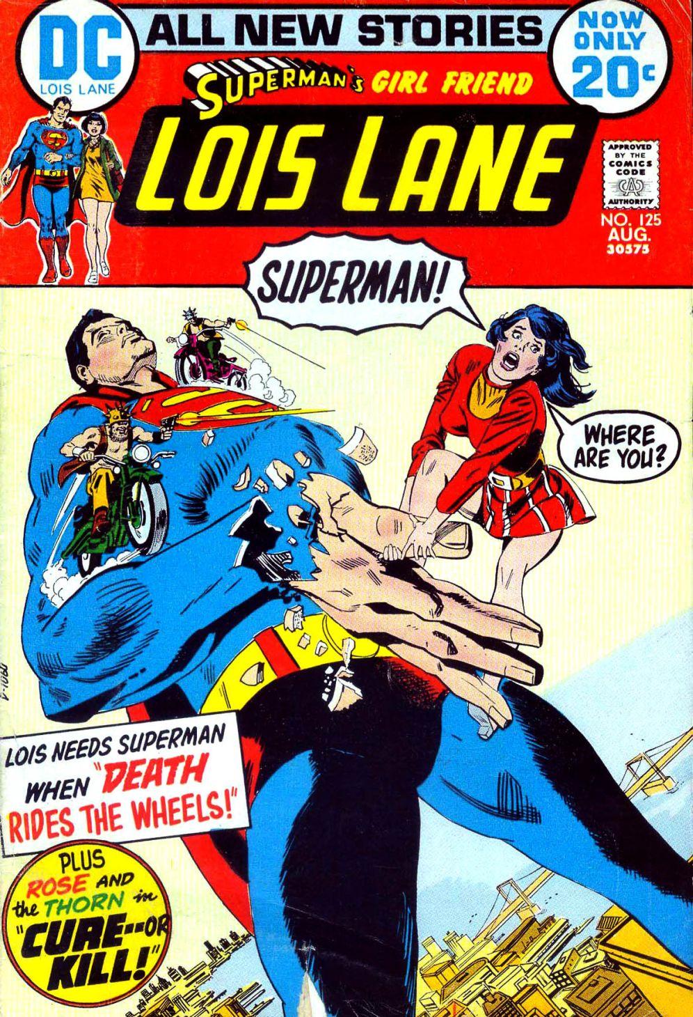 Supermans Girl Friend, Lois Lane 125 Page 1