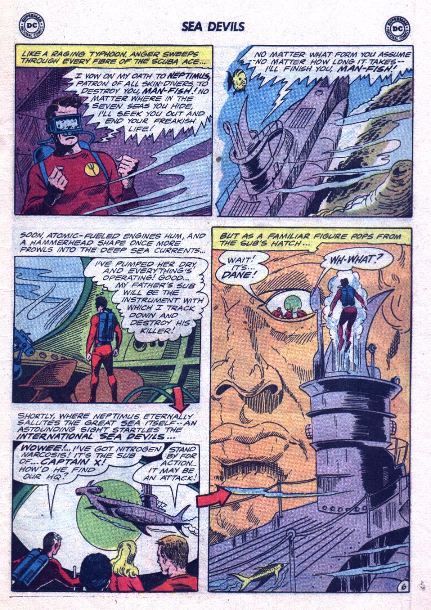Read online Sea Devils comic -  Issue #24 - 10