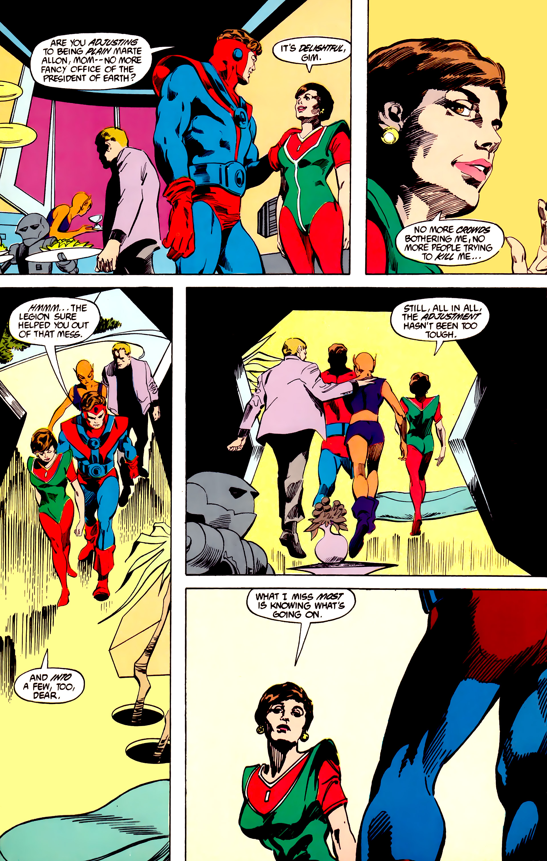 Legion of Super-Heroes (1984) 27 Page 19