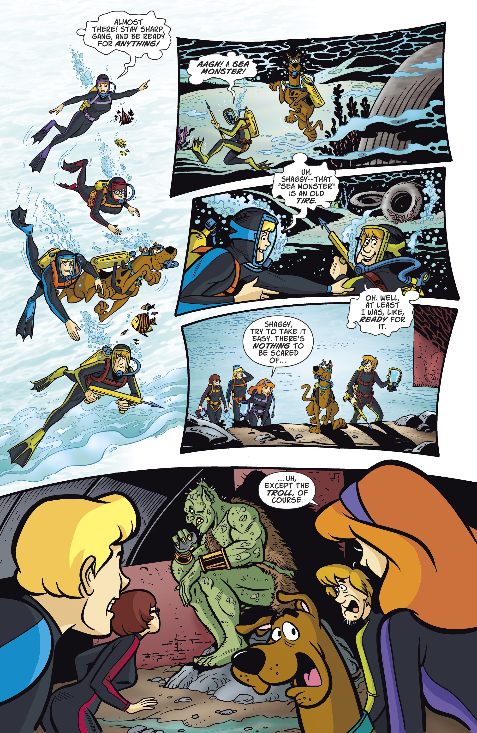 Read online Scooby-Doo: Where Are You? comic -  Issue #81 - 8