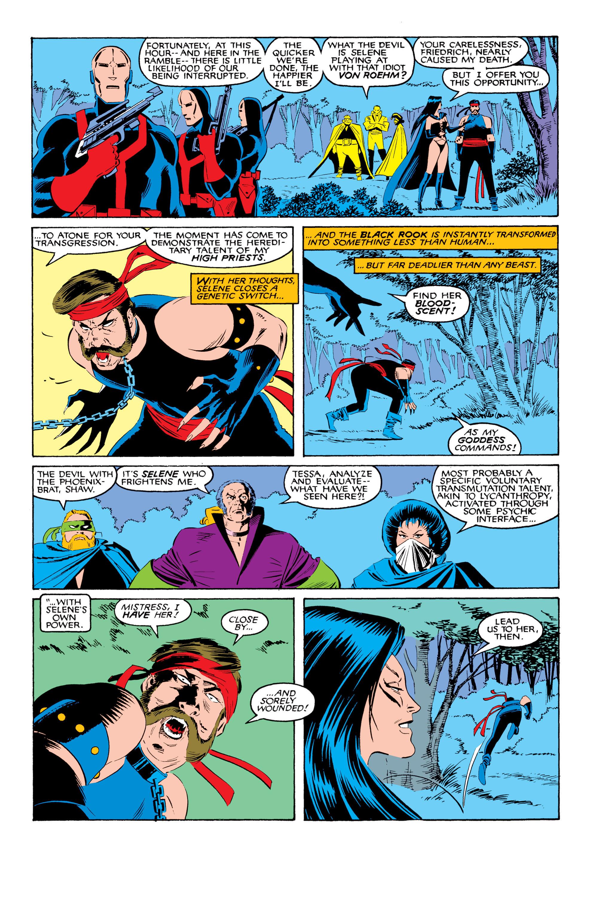 Read online Uncanny X-Men (1963) comic -  Issue #208 - 16
