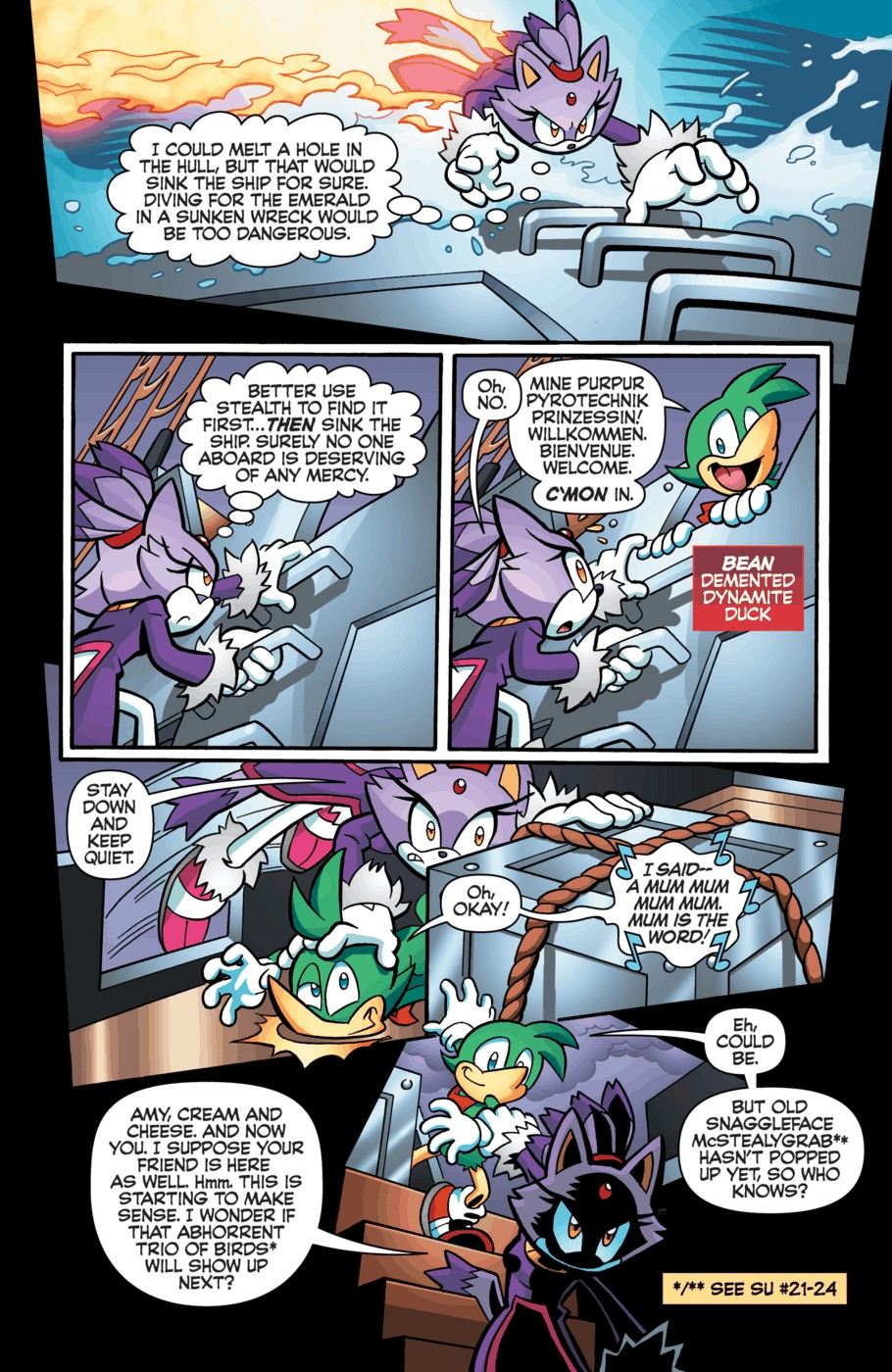 Read online Sonic Universe comic -  Issue #55 - 10